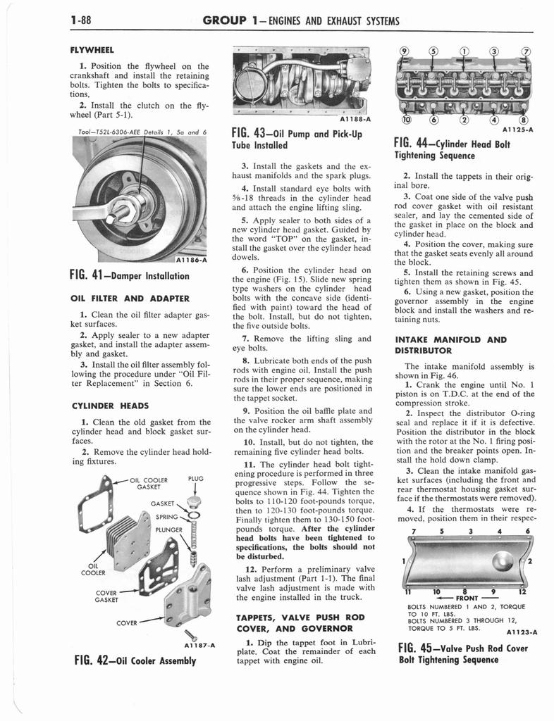 1960 Ford and Mercury Truck Shop Manual page 97 of 641