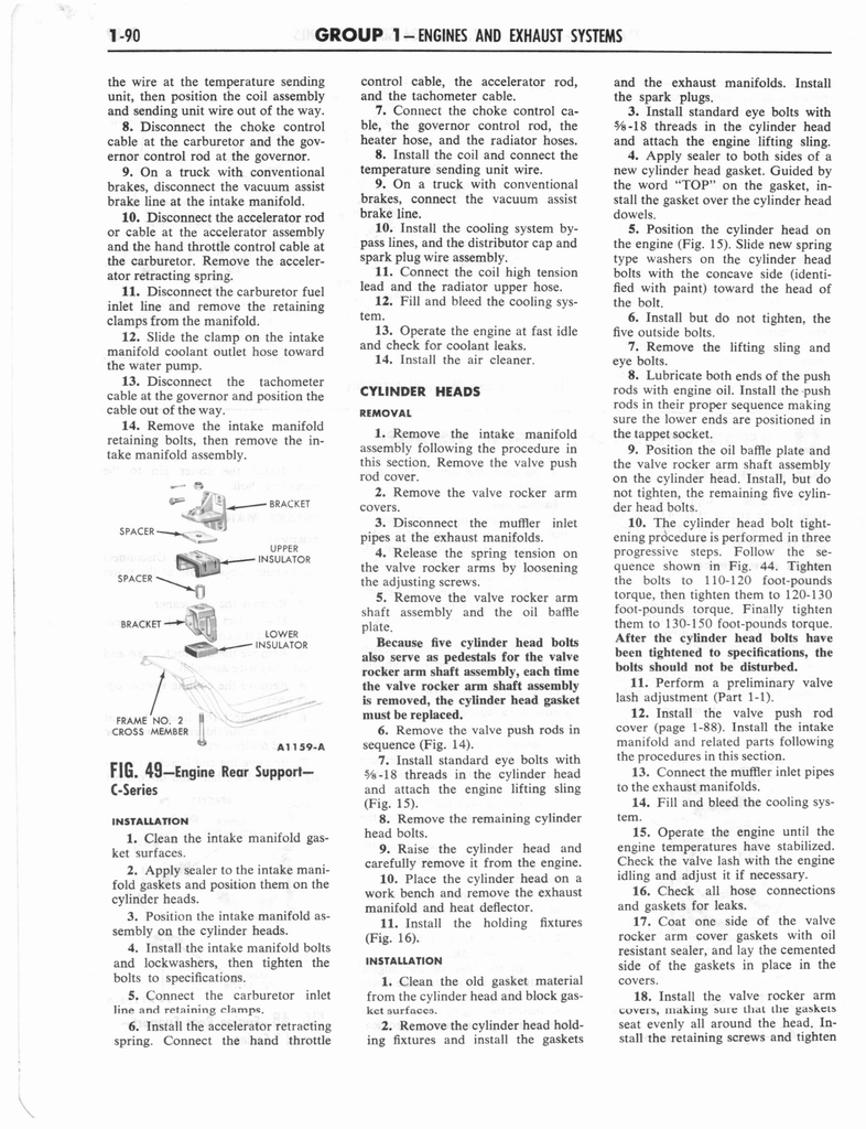 1960 Ford and Mercury Truck Shop Manual page 99 of 641