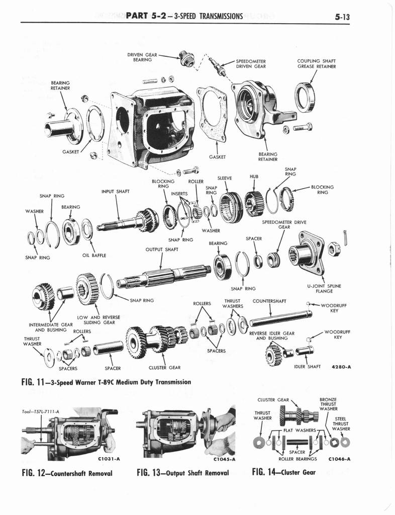 1960 Ford and Mercury Truck Shop Manual page 224 of 641