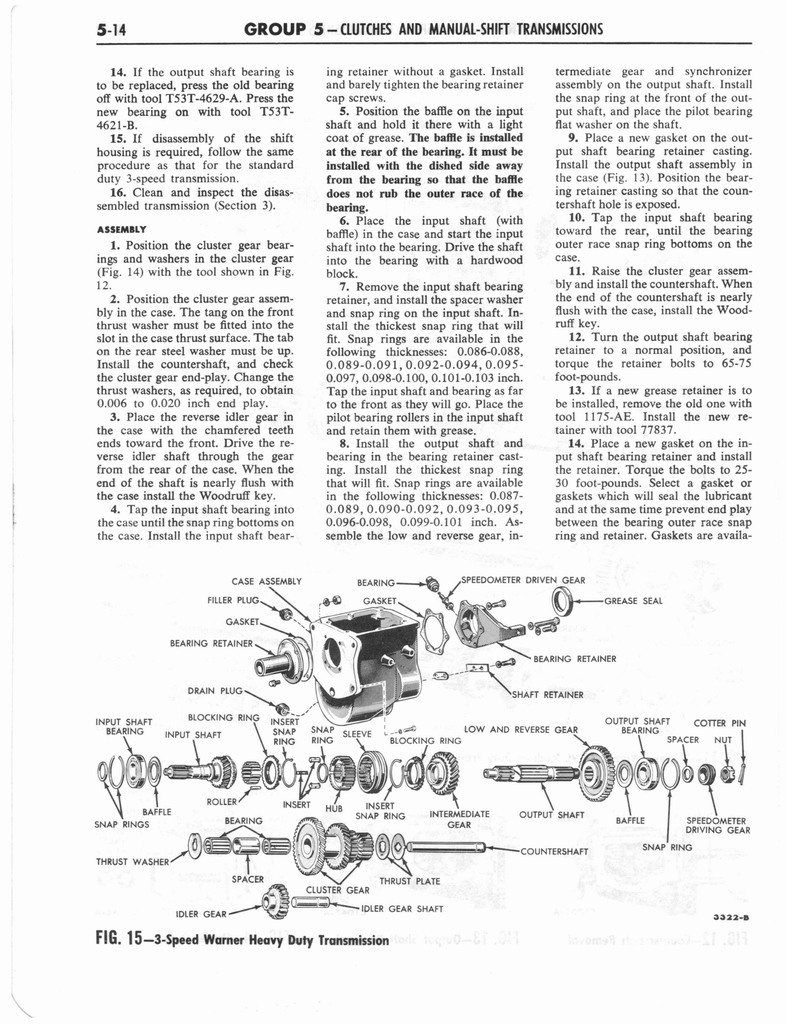1960 Ford and Mercury Truck Shop Manual page 225 of 641