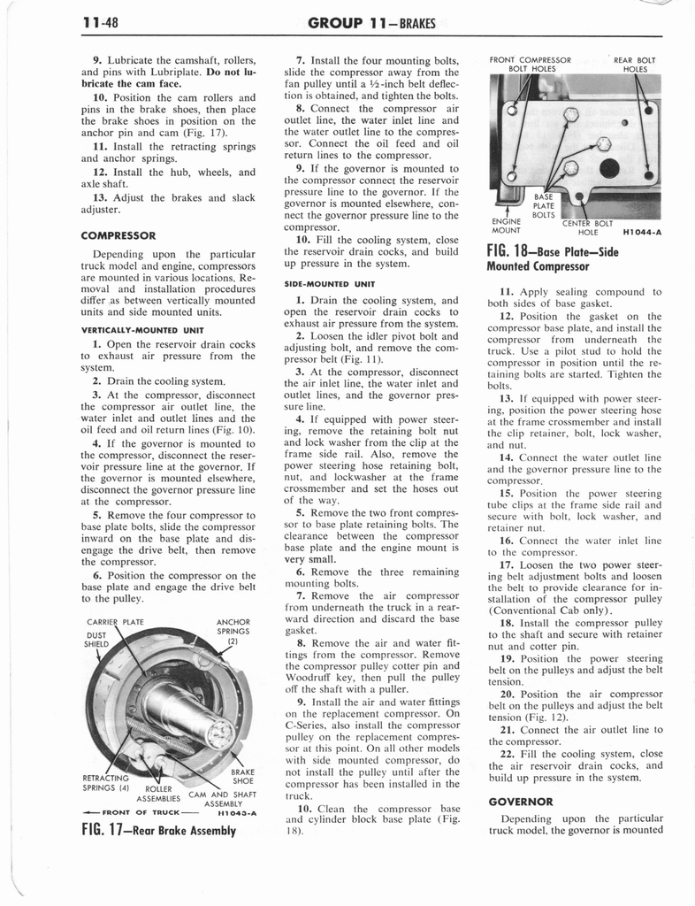 1960 Ford and Mercury Truck Shop Manual page 527 of 641