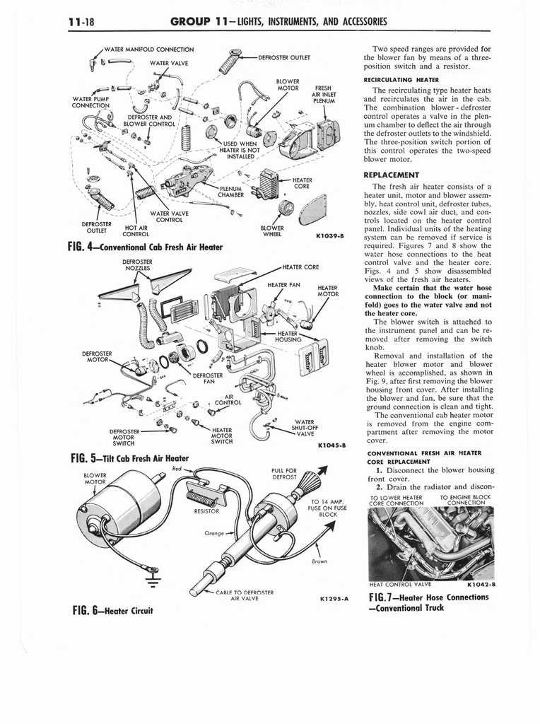 1961 Ford and Mercury Truck 850-1100 Series Shop Manual