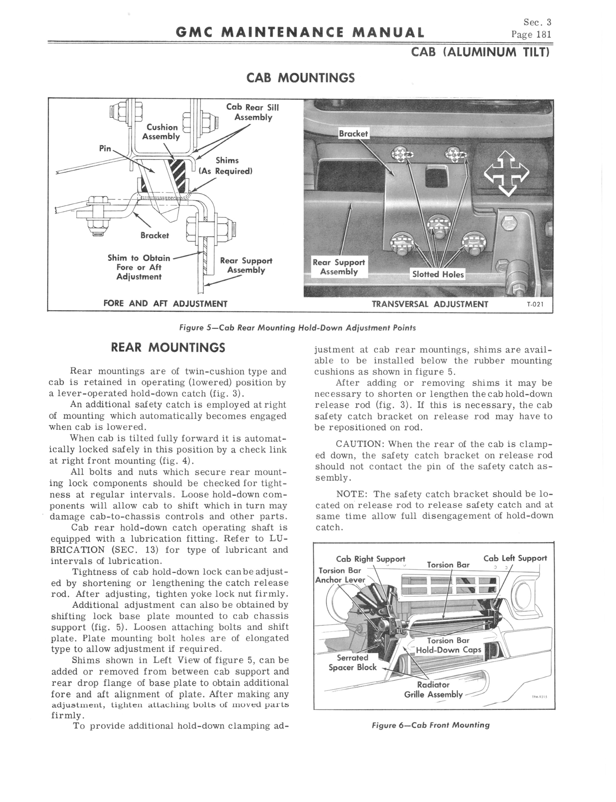 1964 GMC Series 5500-7100 Maintenance Manual page 189 of 834