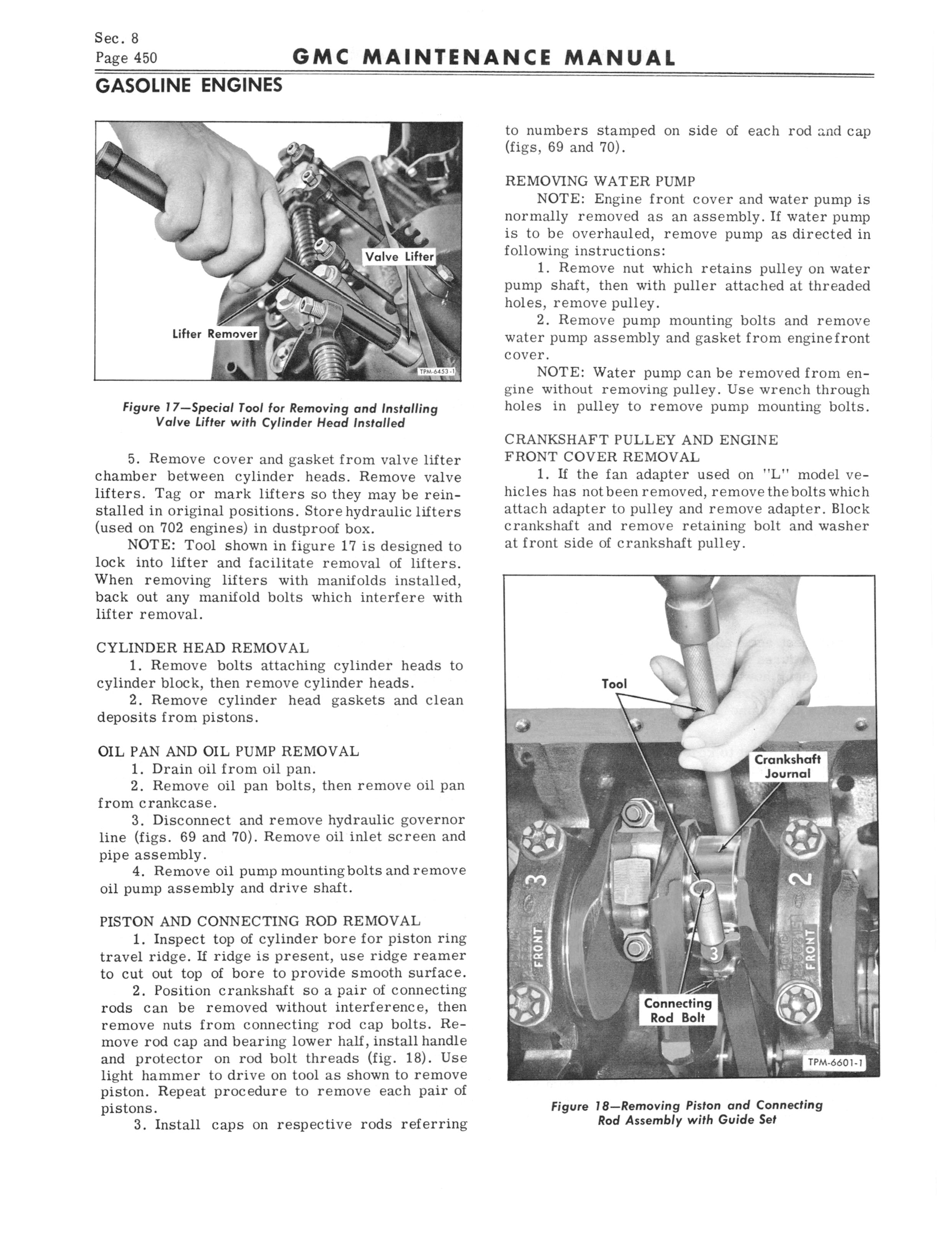 1964 GMC Series 5500-7100 Maintenance Manual page 476 of 834