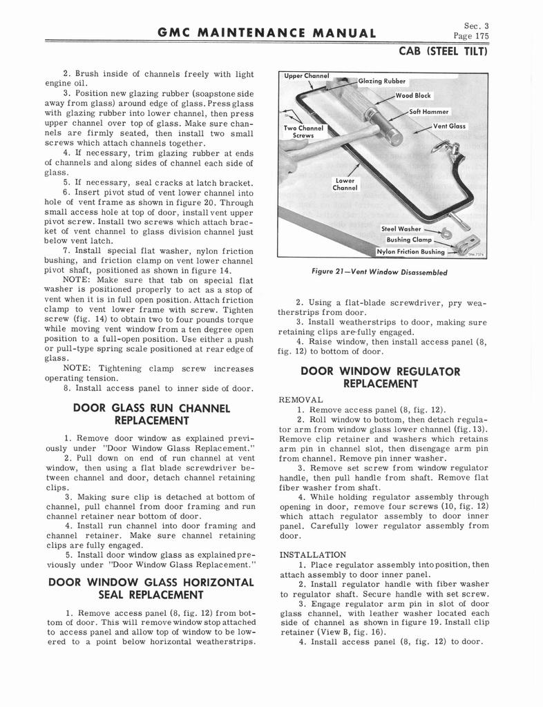 1964 GMC Series 5500-7100 Maintenance Manual page 183 of 834