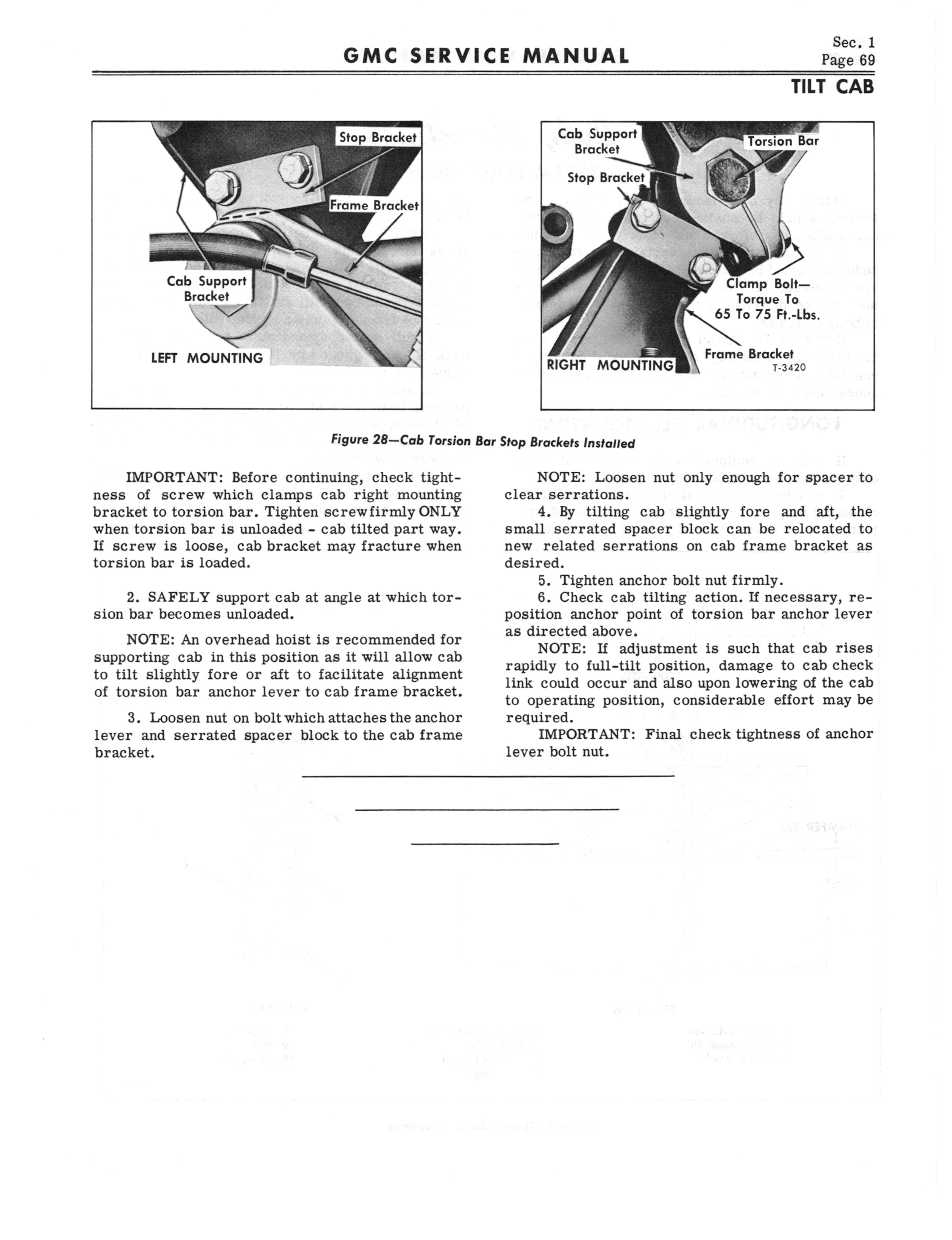 1966 GMC Service Manual Series 4000-6500 page 75 of 506