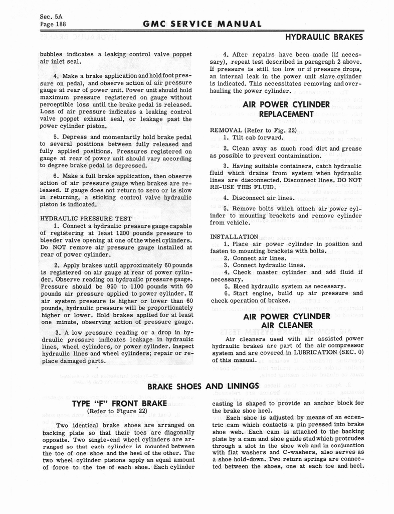 1966 GMC Service Manual Series 4000-6500 page 194 of 506