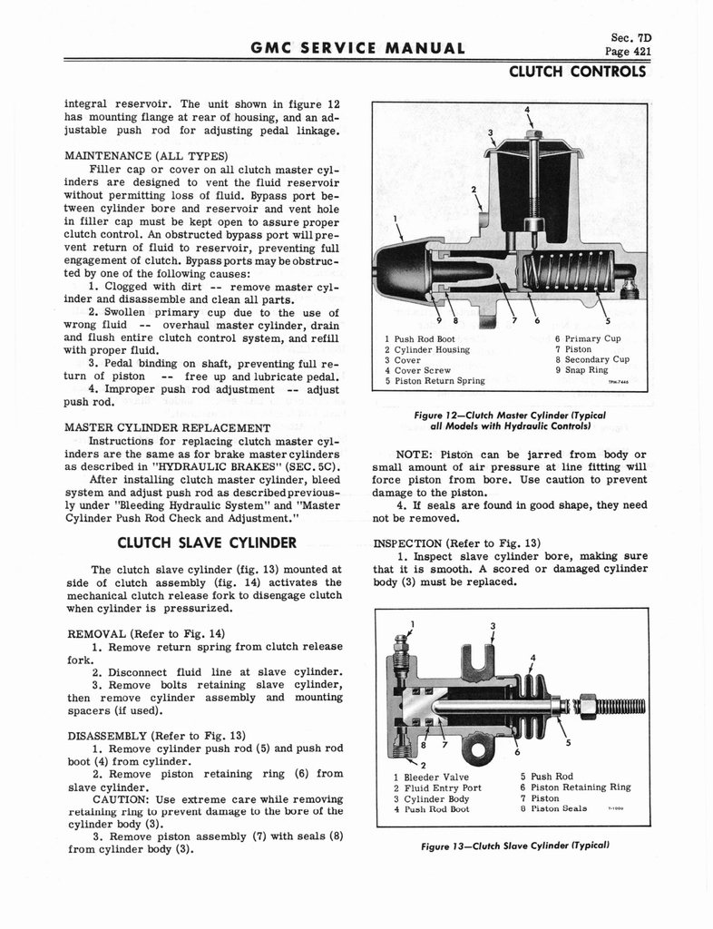 1966 GMC Service Manual Series 4000-6500 page 427 of 506