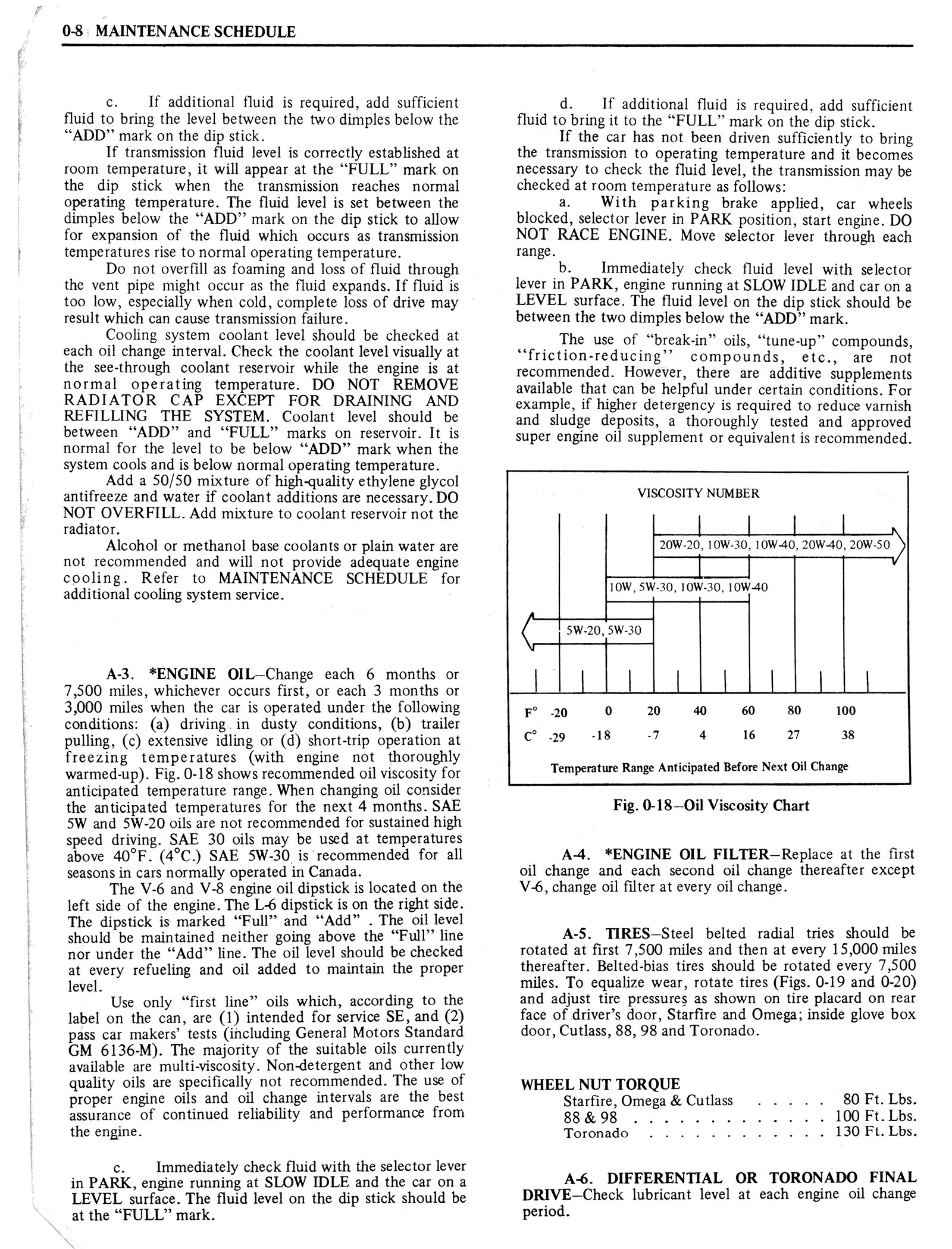 1976 Oldsmobile Service Manual page 12 of 1390