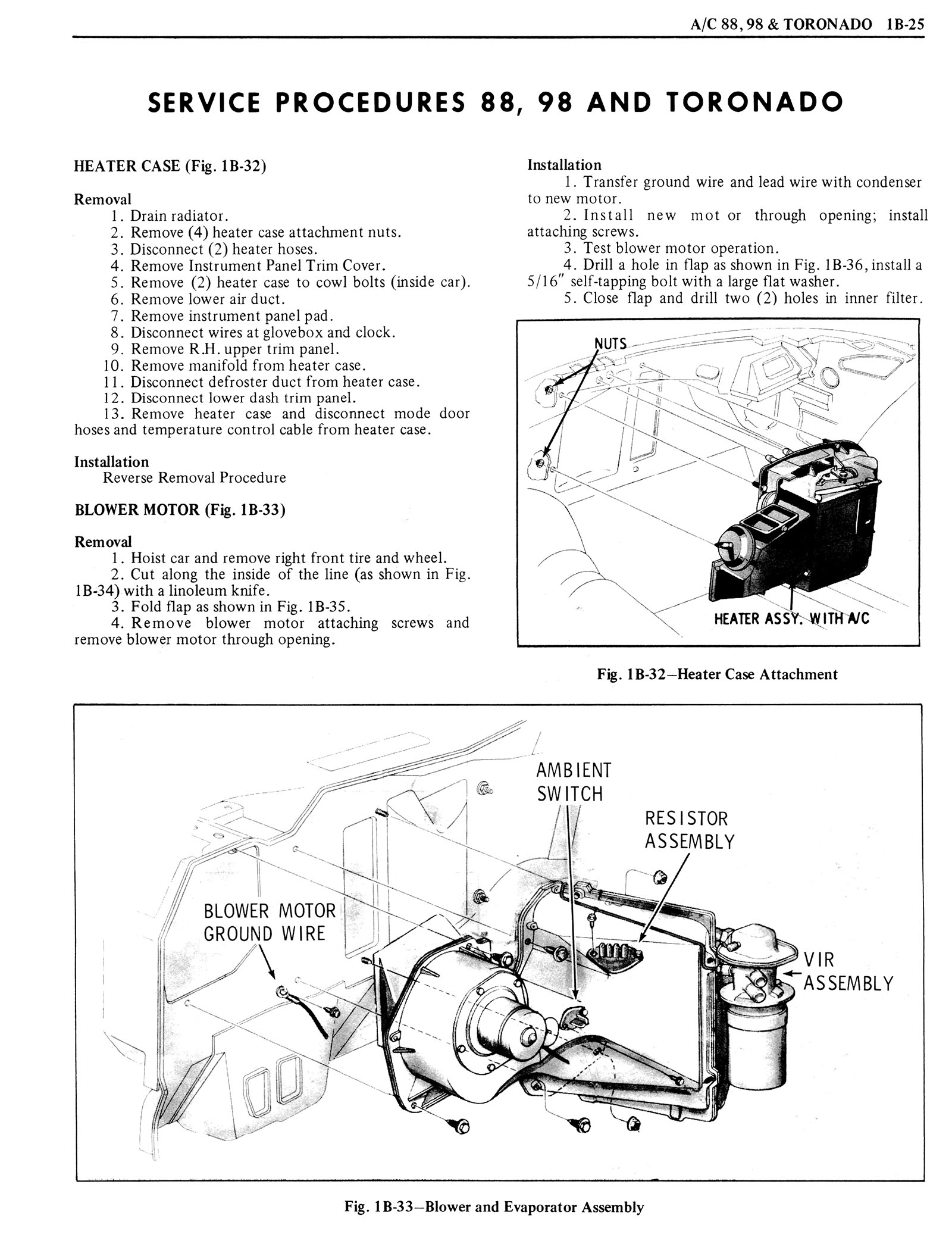 1976 Oldsmobile Service Manual page 123 of 1390