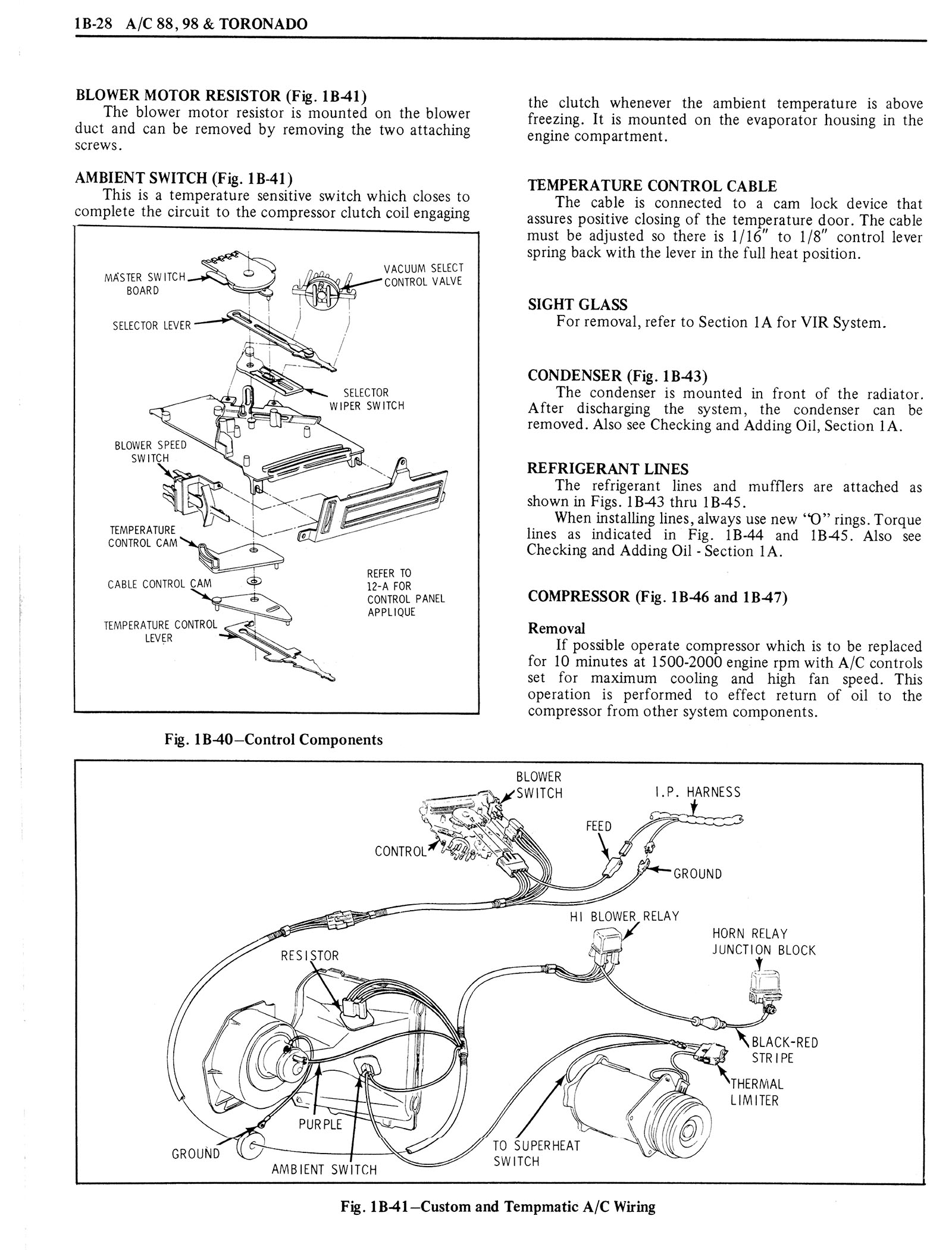 1976 Oldsmobile Service Manual page 126 of 1390
