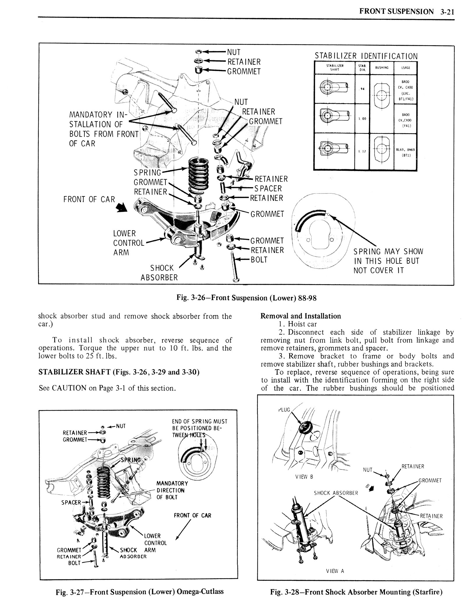 1976 Oldsmobile Service Manual page 193 of 1390
