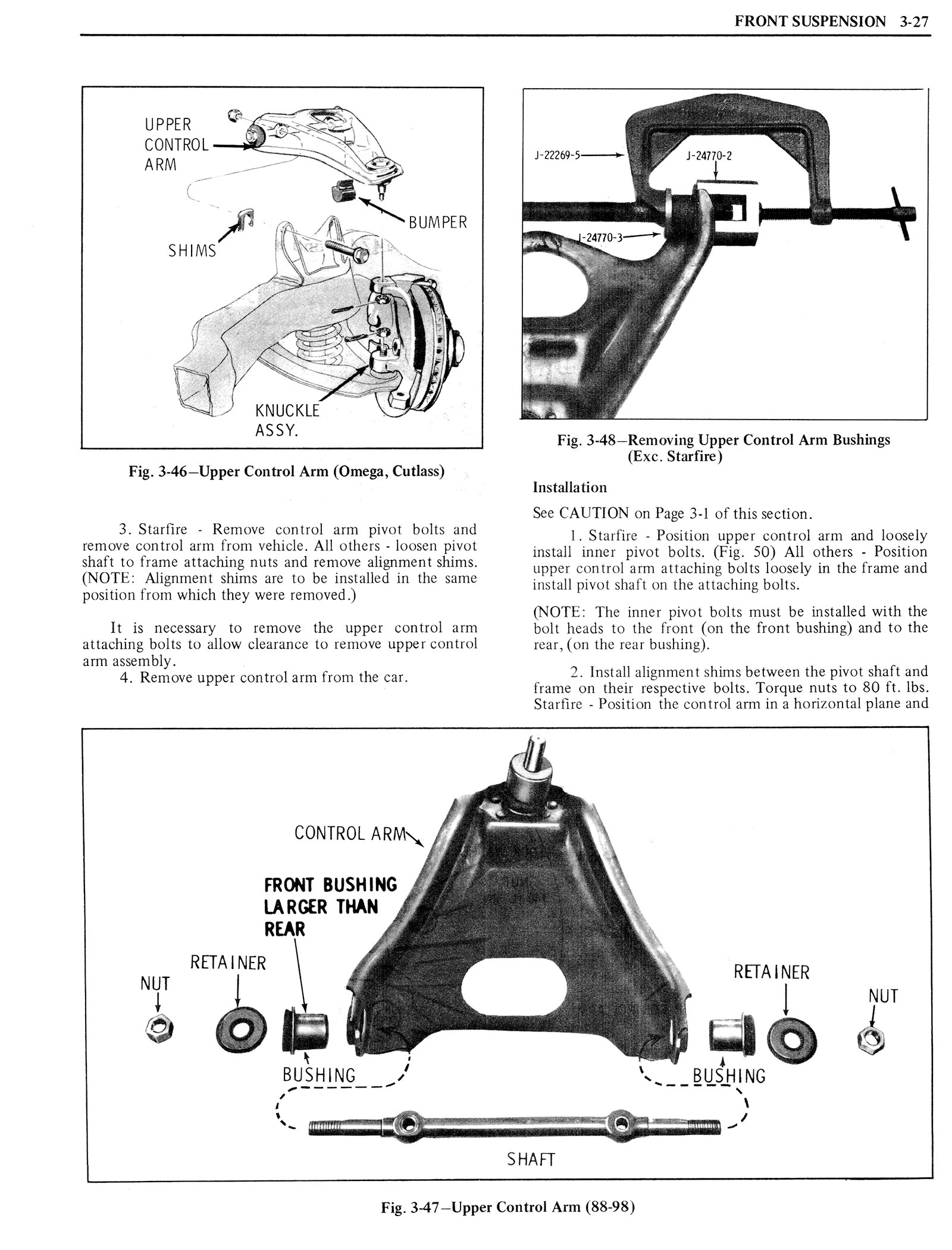 1976 Oldsmobile Service Manual page 199 of 1390