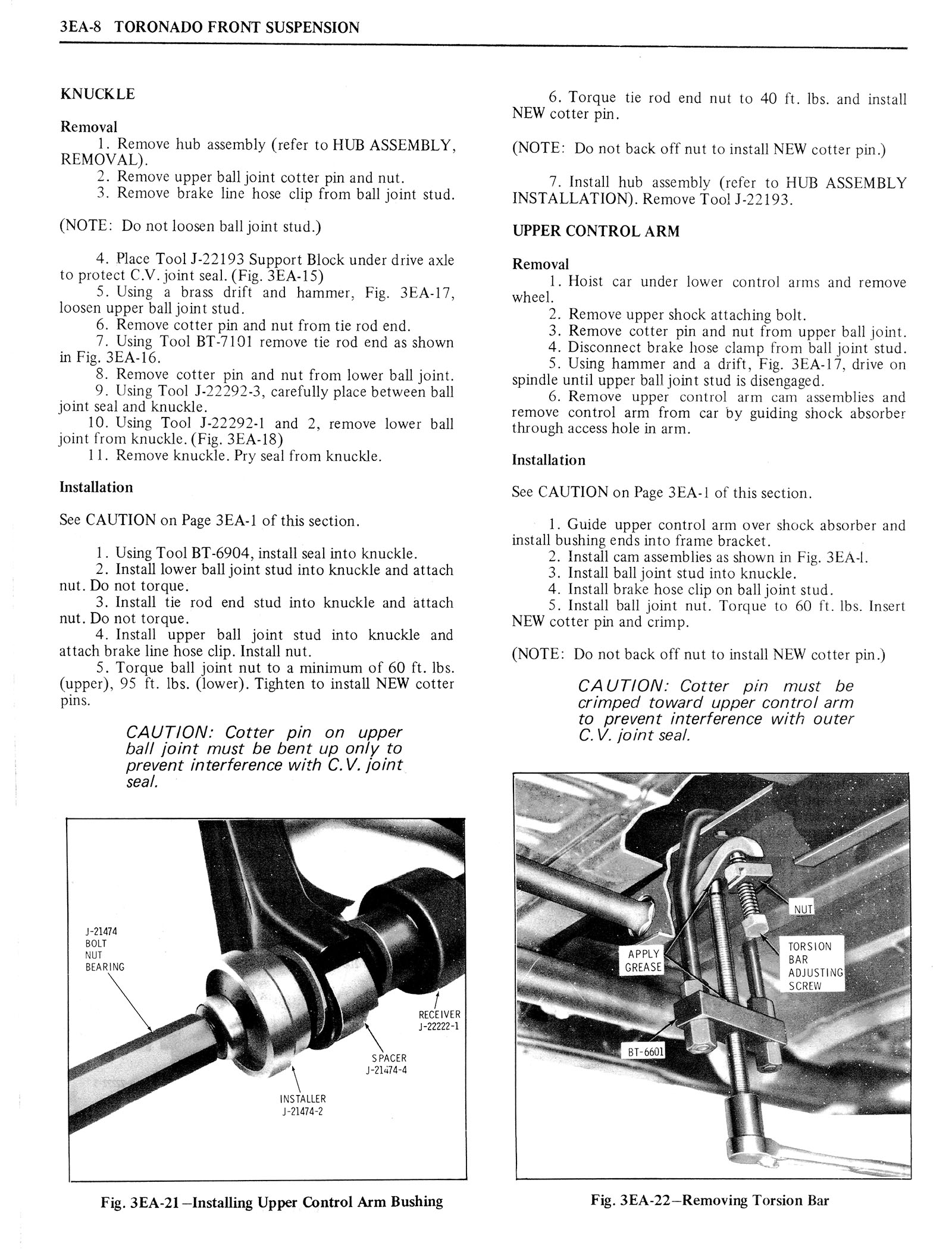 1976 Oldsmobile Service Manual page 216 of 1390