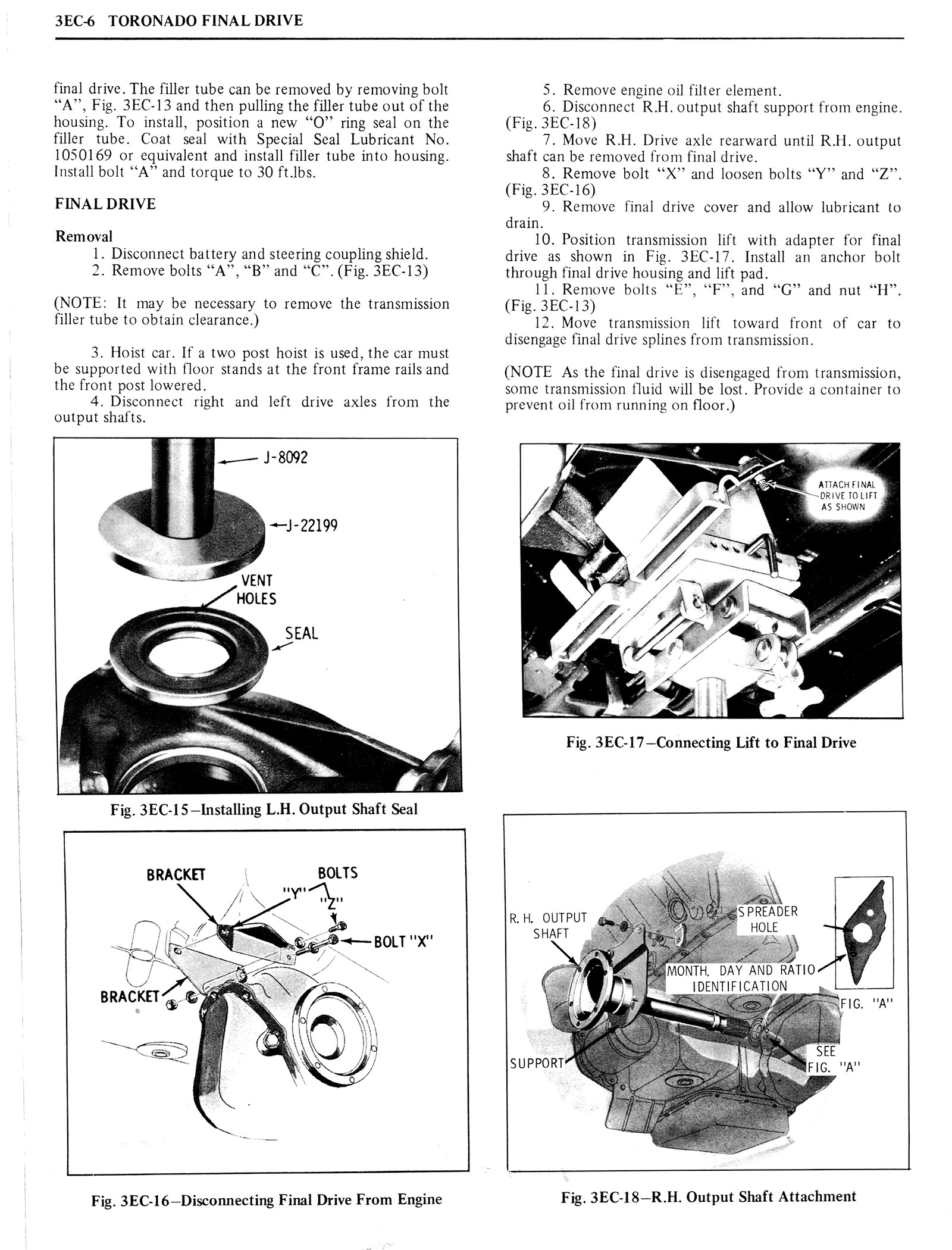 1976 Oldsmobile Service Manual page 242 of 1390