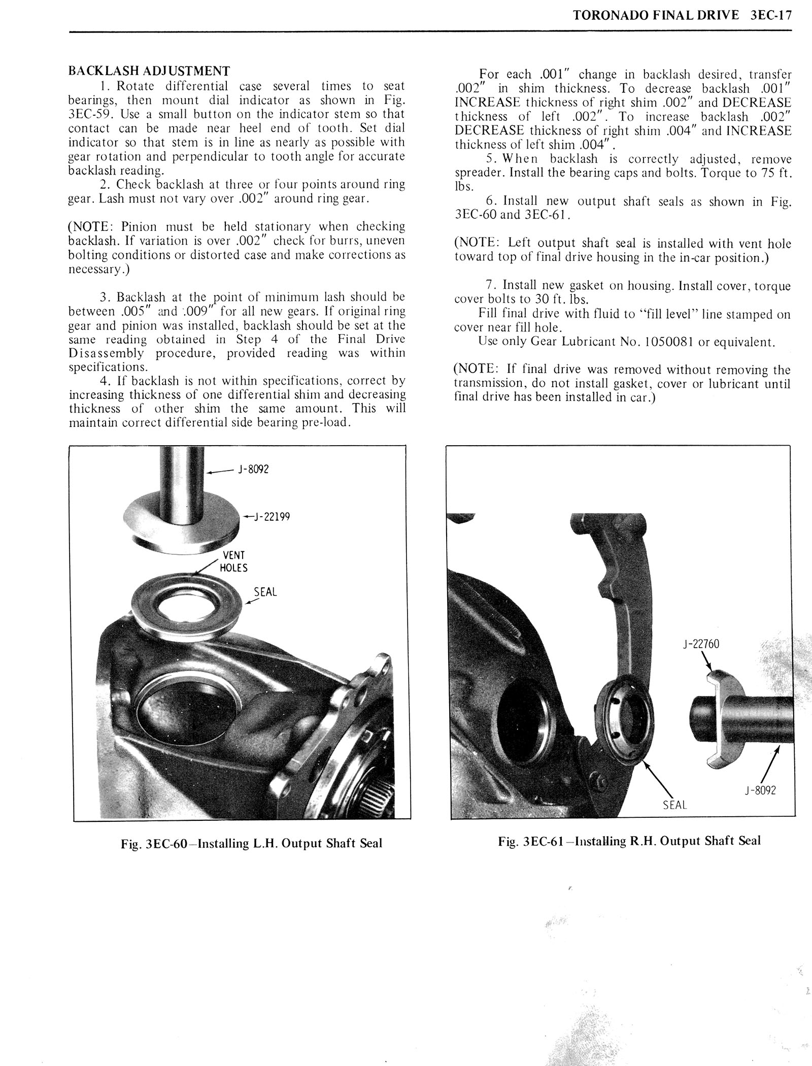 1976 Oldsmobile Service Manual page 253 of 1390