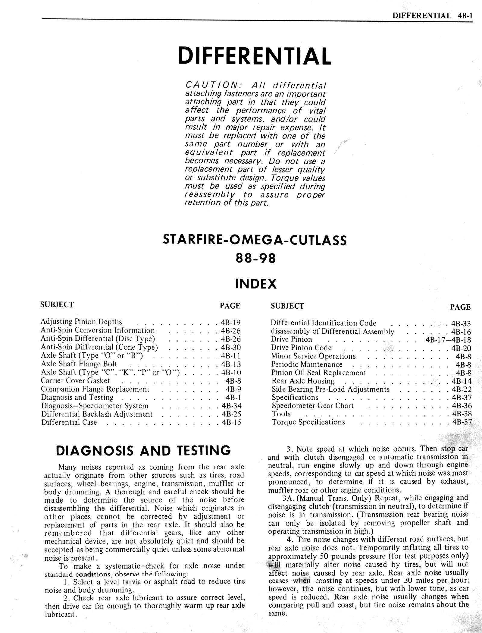 1976 Oldsmobile Service Manual page 289 of 1390