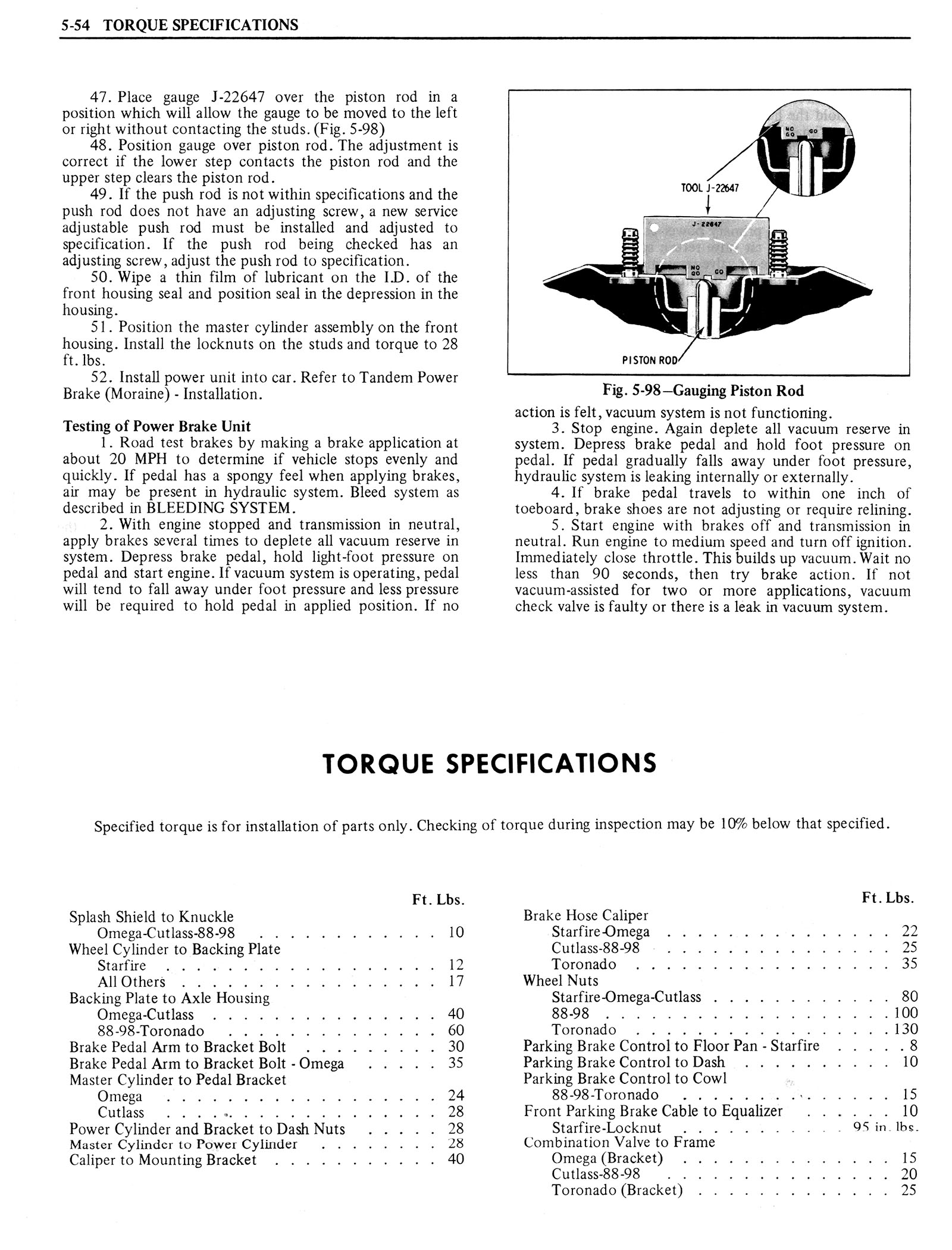 1976 Oldsmobile Service Manual page 393 of 1390
