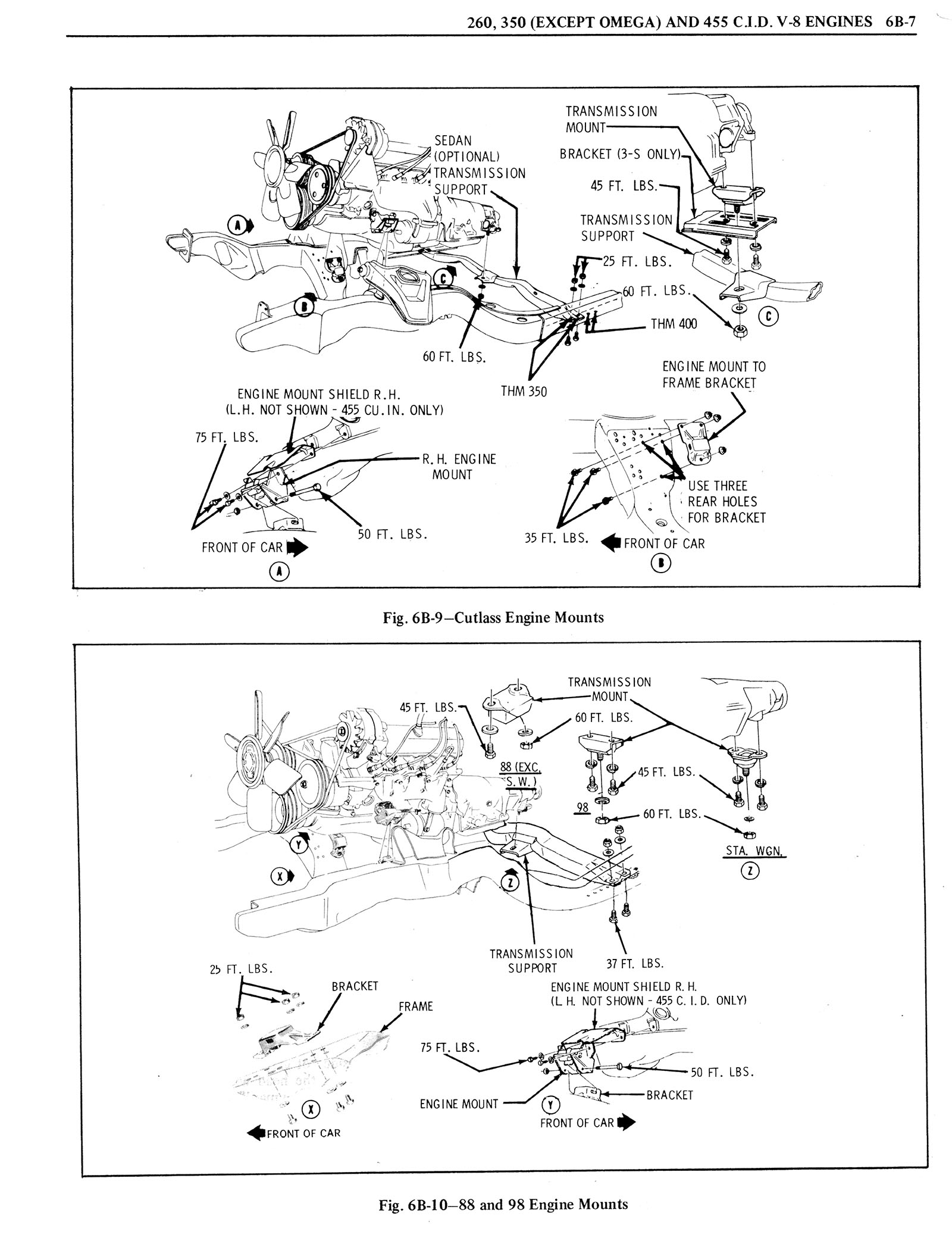 1976 Oldsmobile Service Manual page 426 of 1390