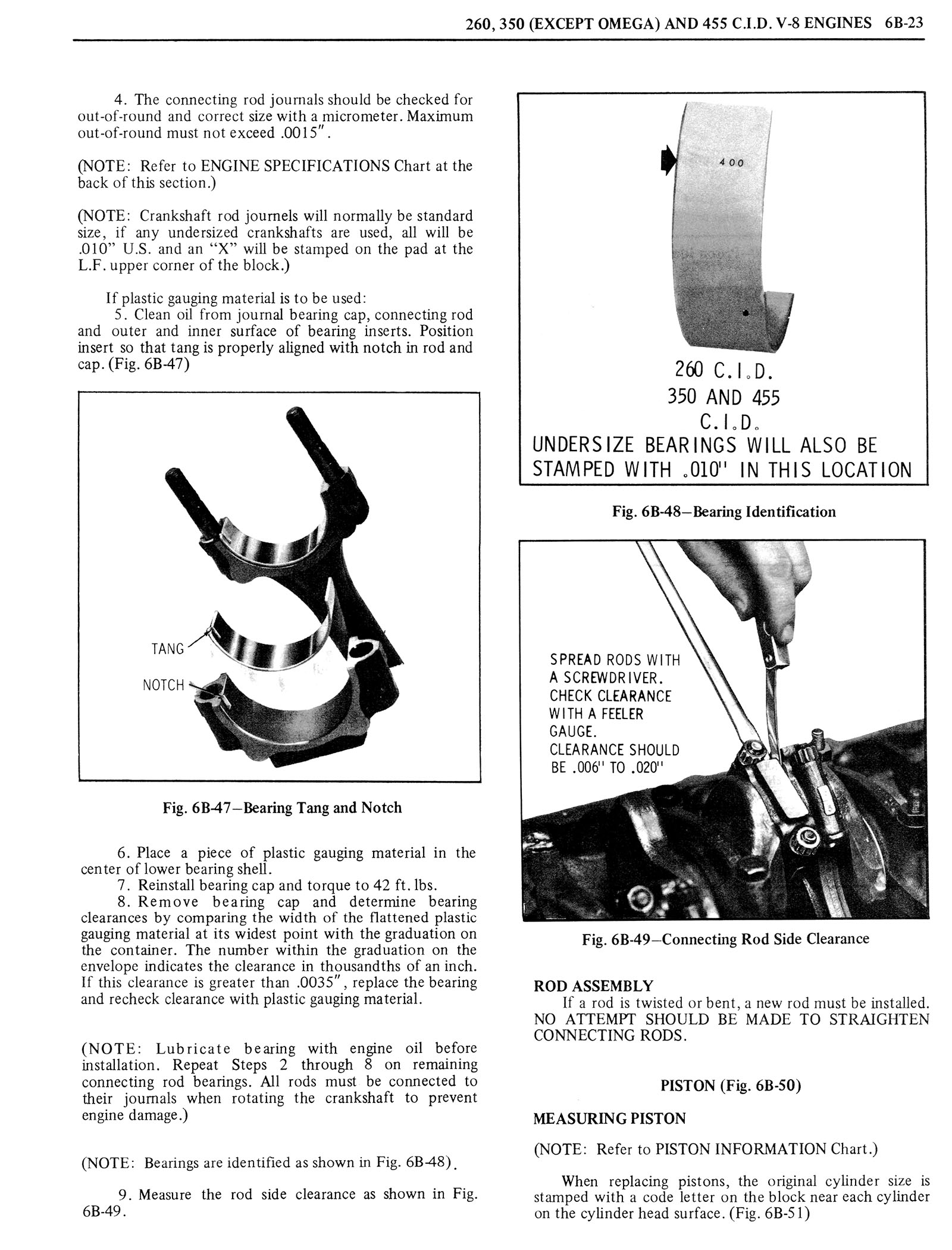 1976 Oldsmobile Service Manual page 442 of 1390