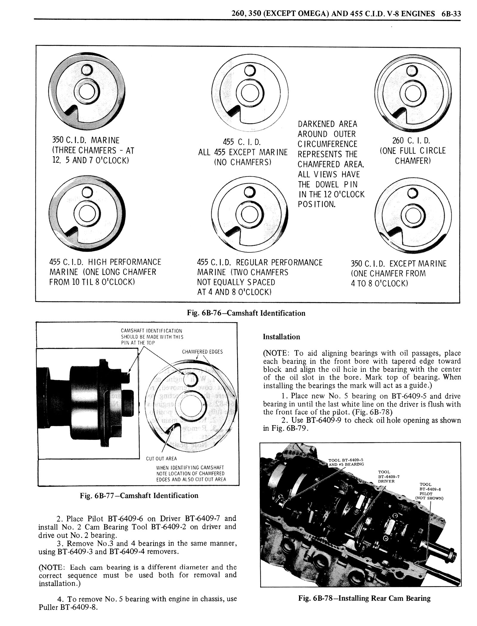 1976 Oldsmobile Service Manual page 452 of 1390