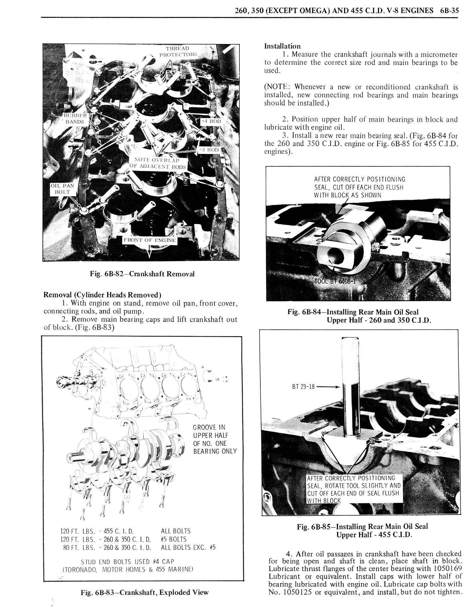 1976 Oldsmobile Service Manual page 454 of 1390