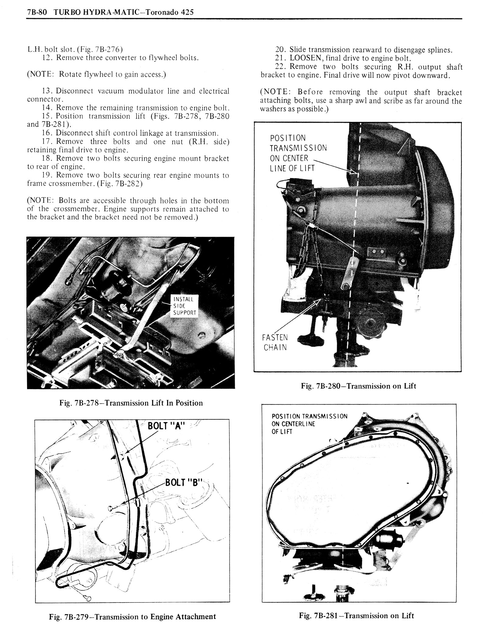 1976 Oldsmobile Service Manual page 812 of 1390