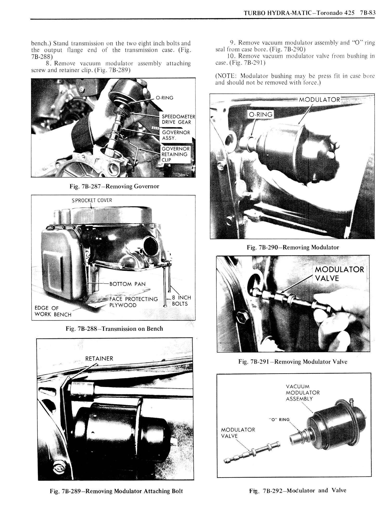 1976 Oldsmobile Service Manual page 815 of 1390