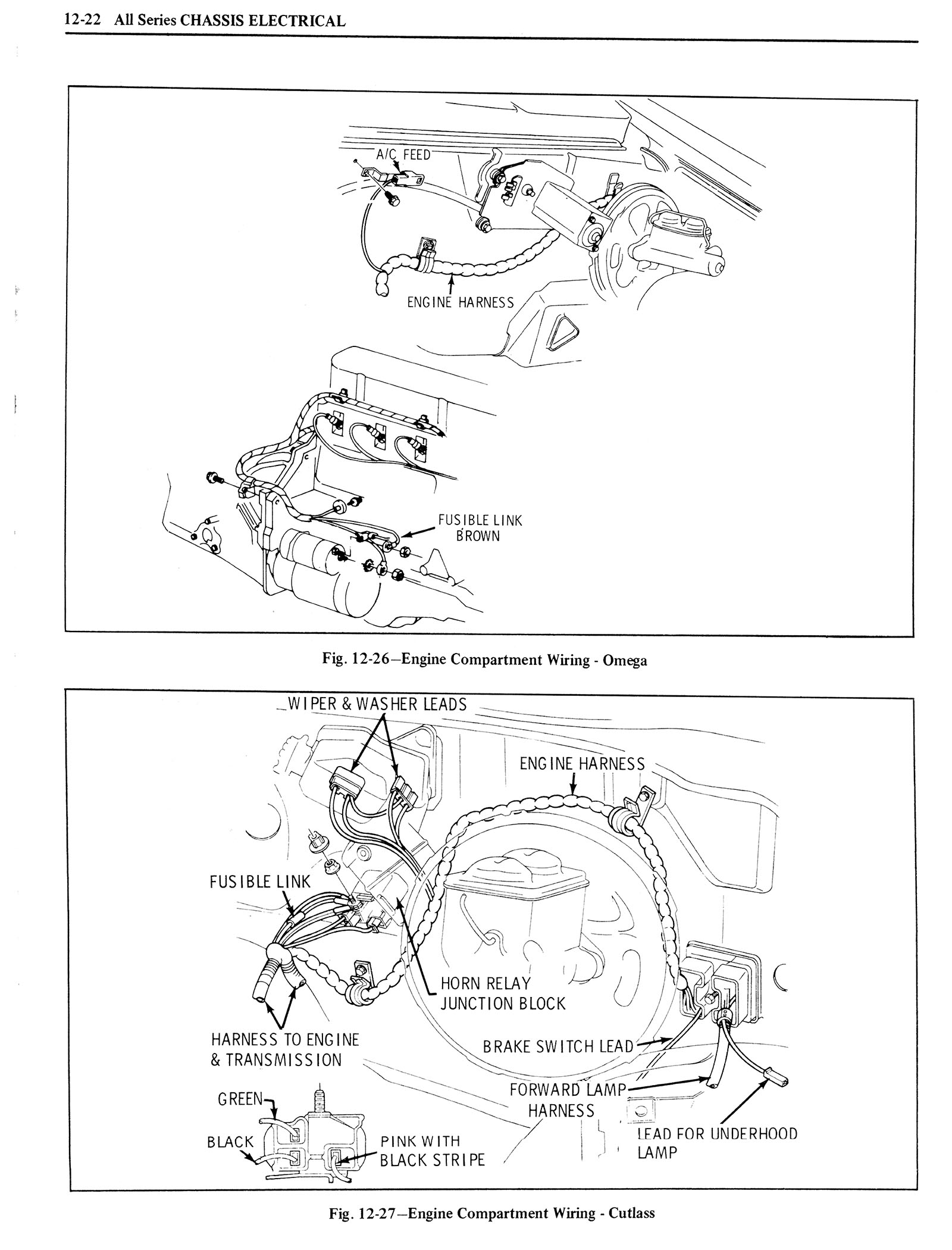 1976 Oldsmobile Service Manual page 1142 of 1390