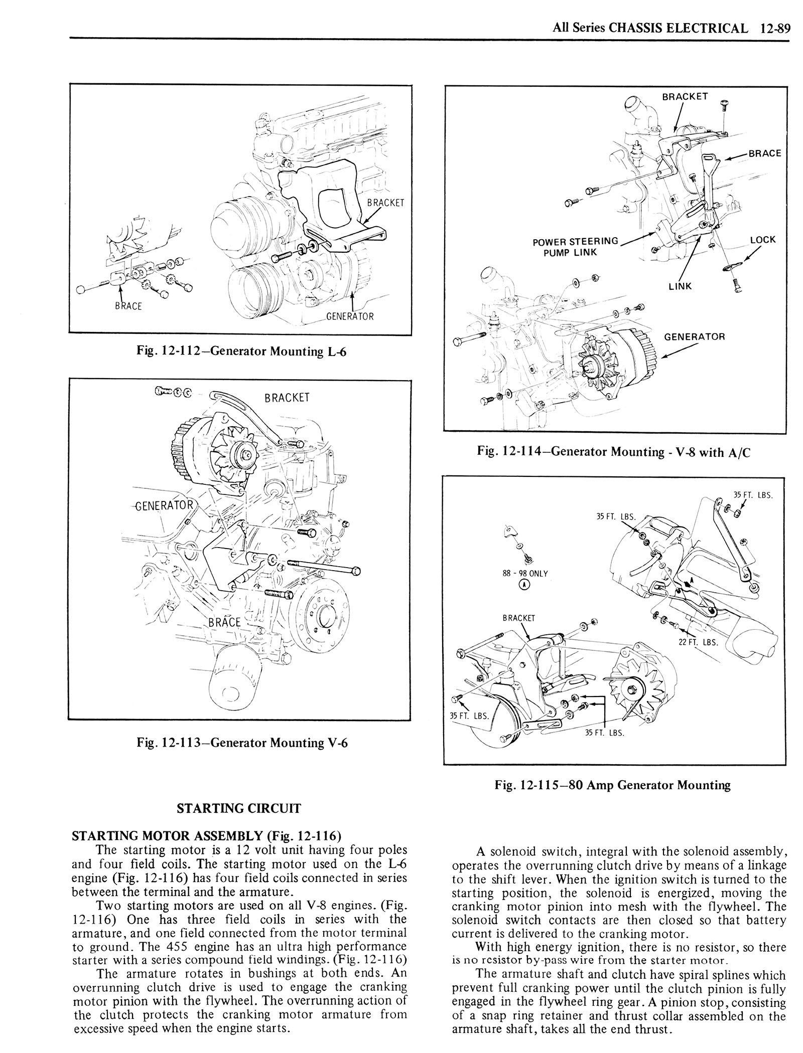 1976 Oldsmobile Service Manual page 1209 of 1390