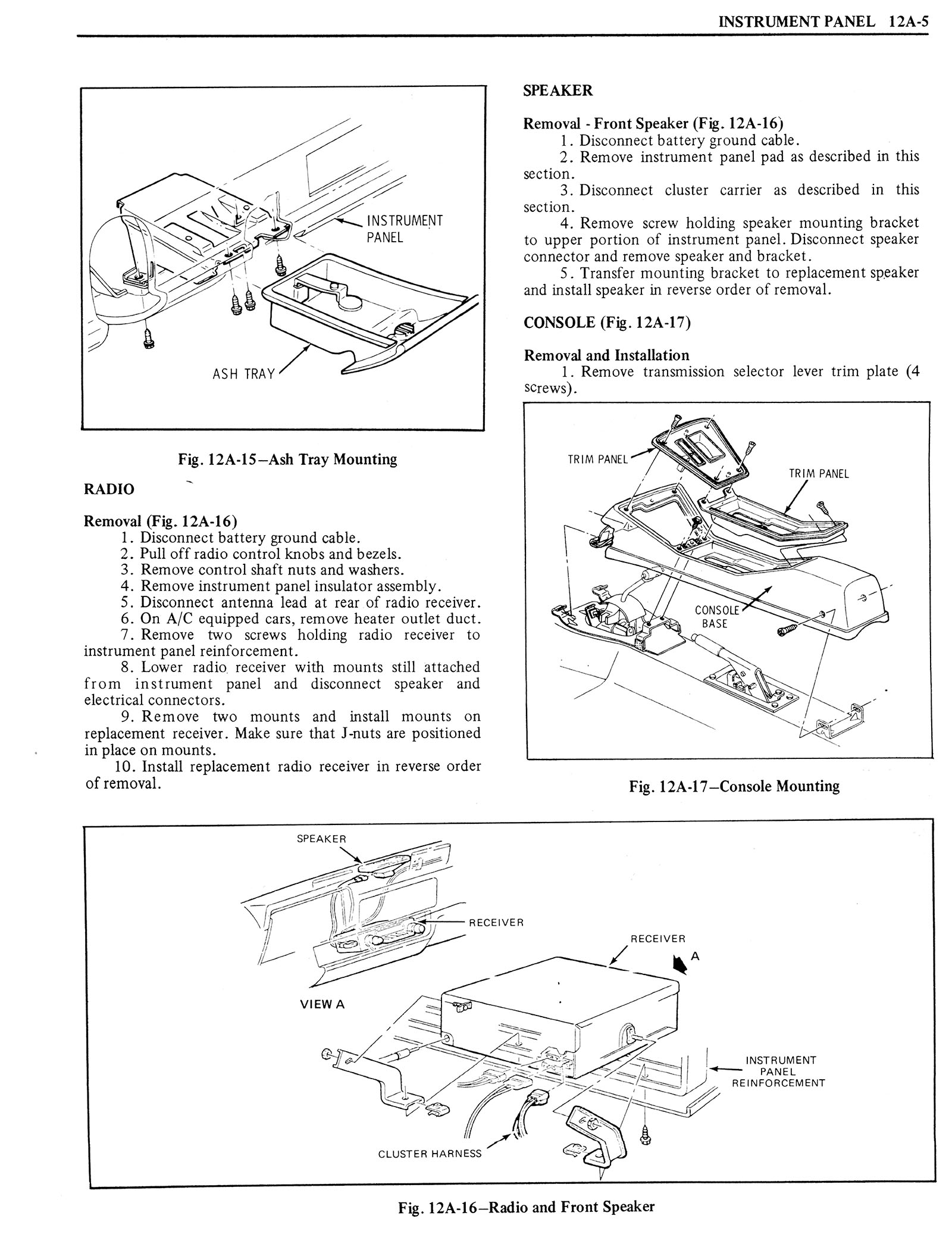 1976 Oldsmobile Service Manual page 1239 of 1390