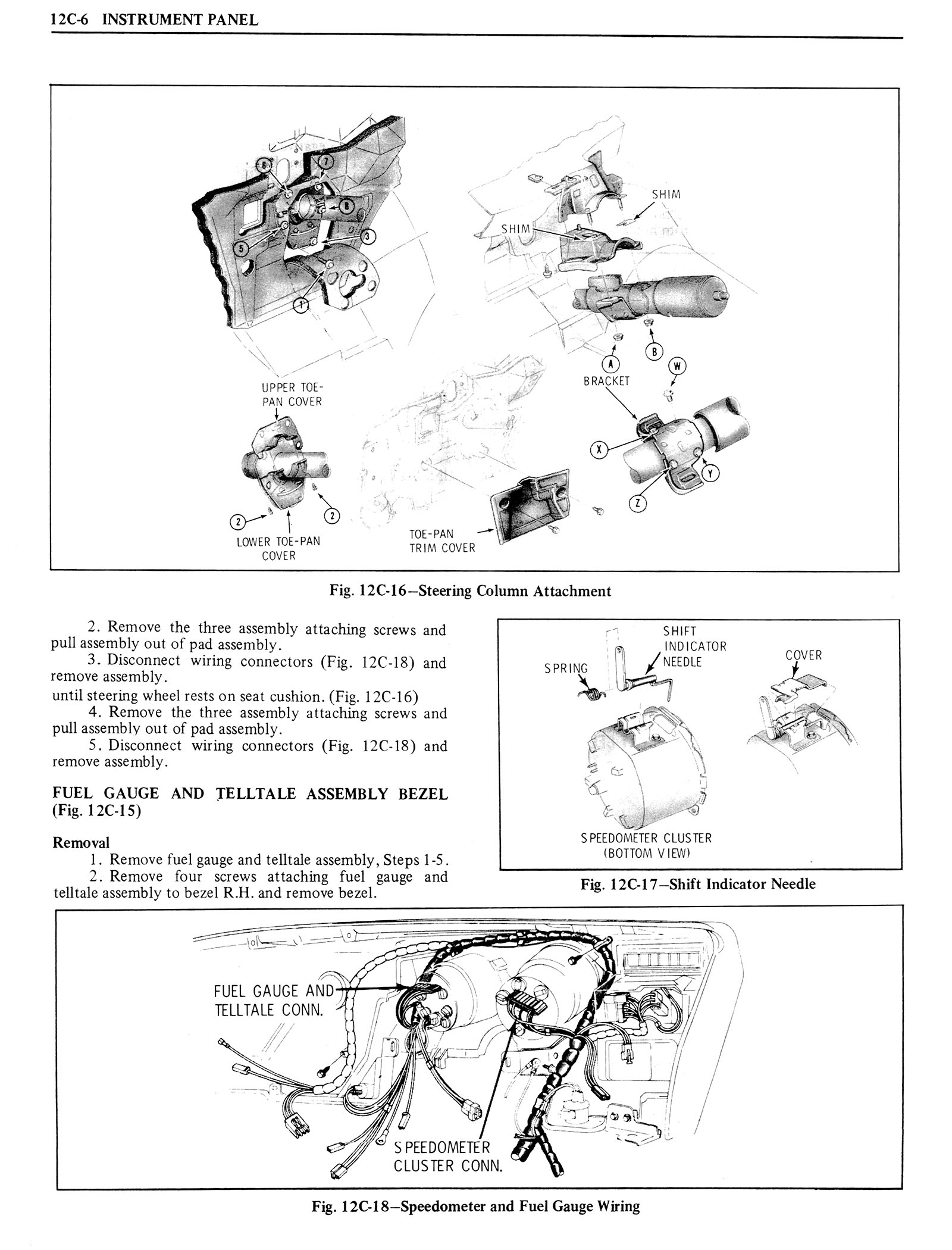 1976 Oldsmobile Service Manual page 1254 of 1390