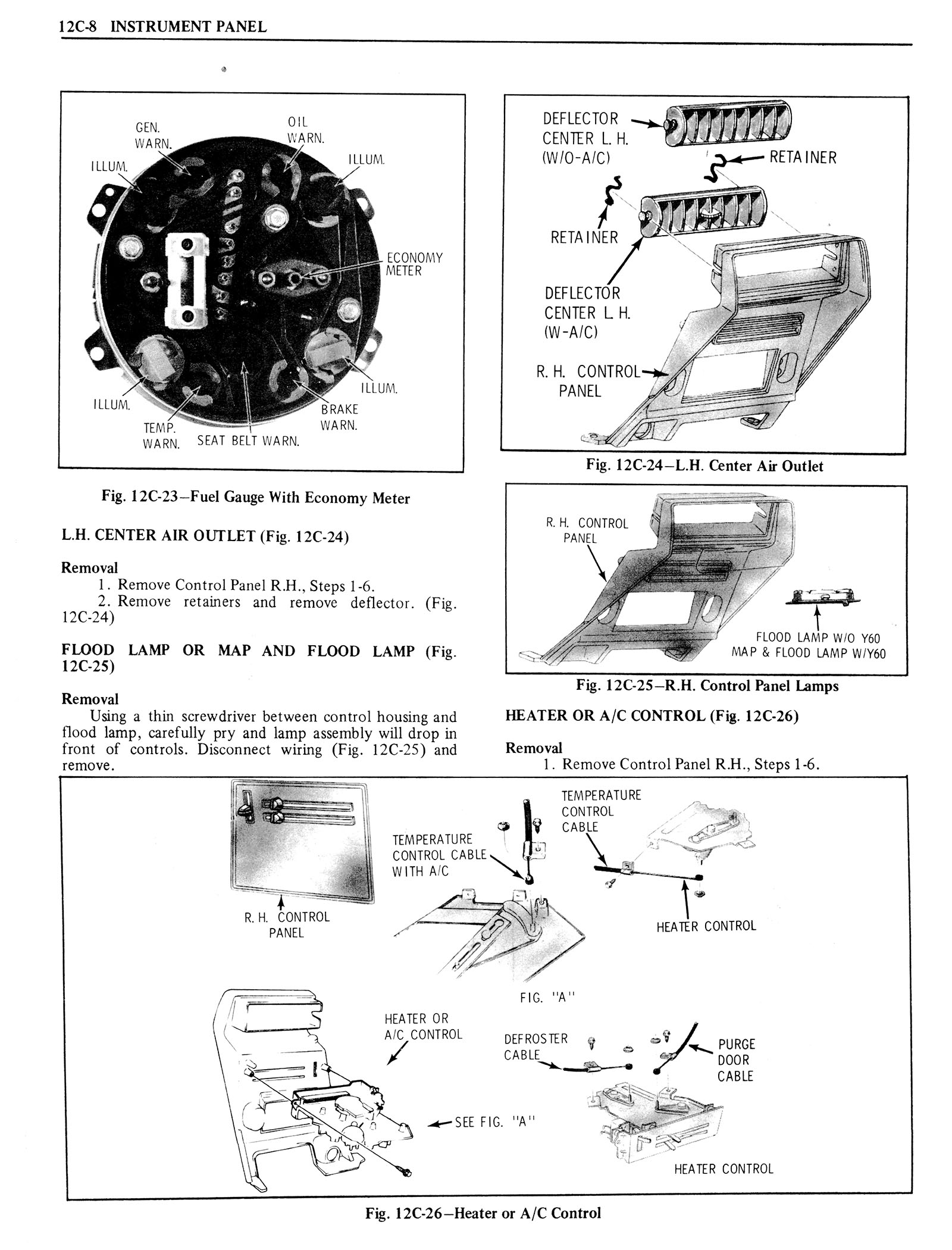 1976 Oldsmobile Service Manual page 1256 of 1390