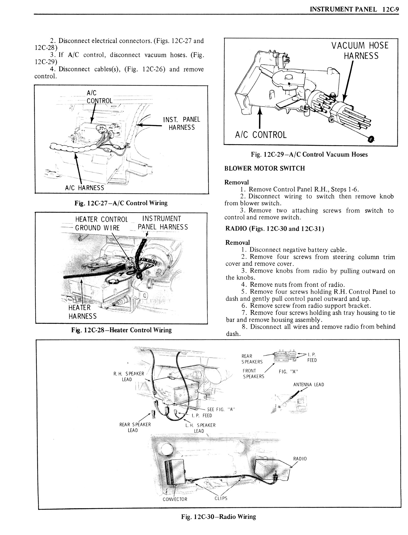 1976 Oldsmobile Service Manual page 1257 of 1390