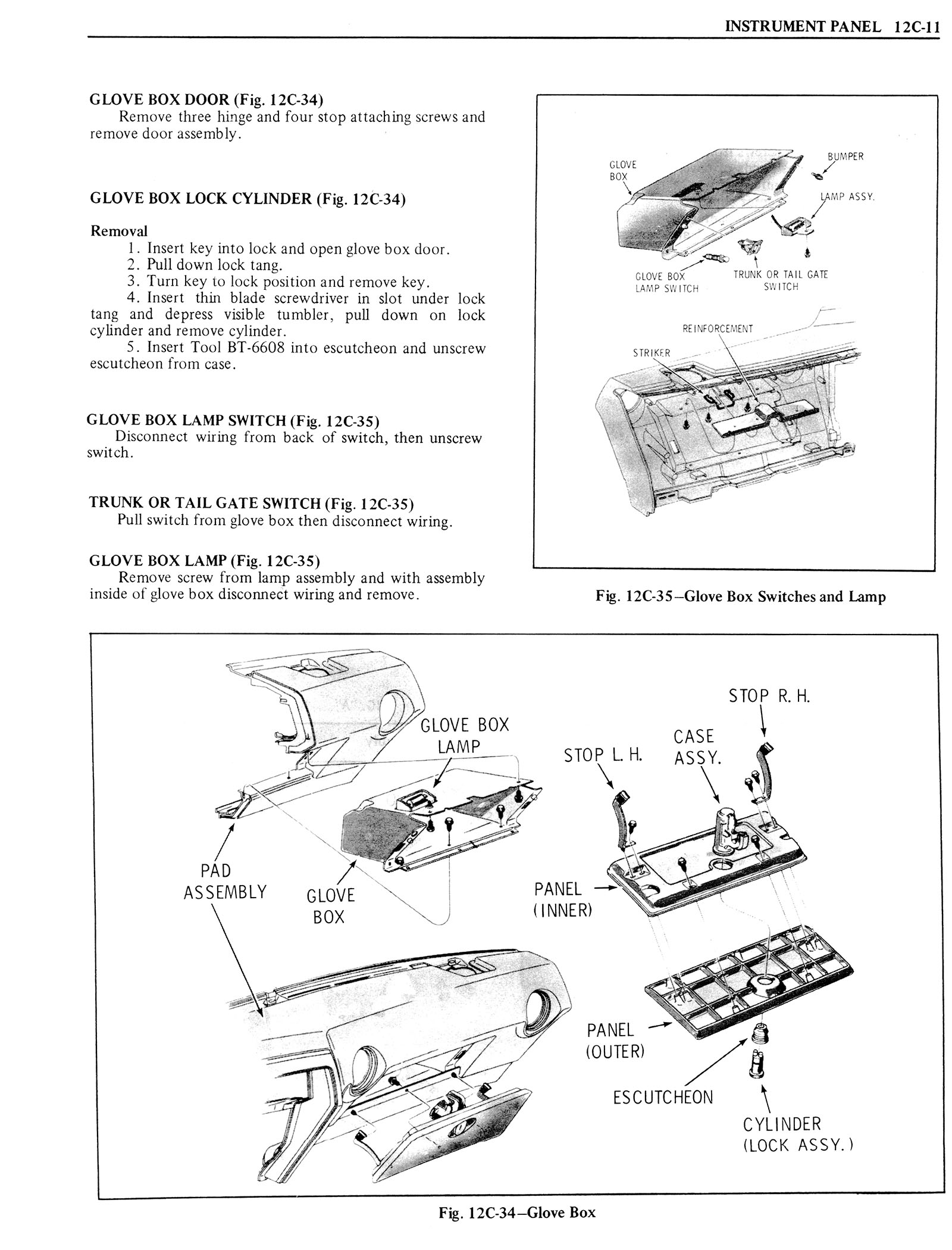 1976 Oldsmobile Service Manual page 1259 of 1390