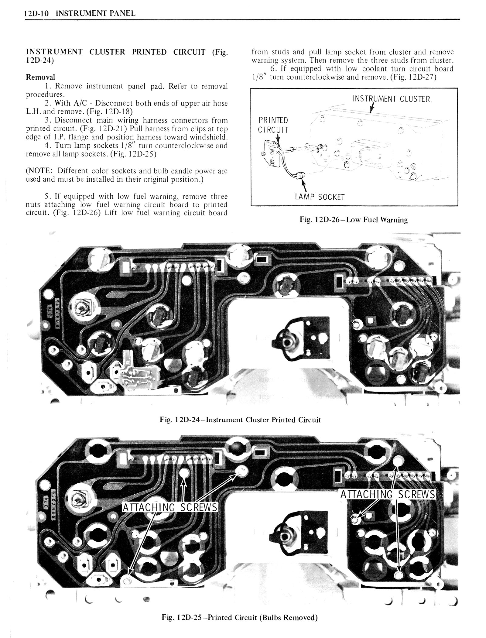 1976 Oldsmobile Service Manual page 1274 of 1390