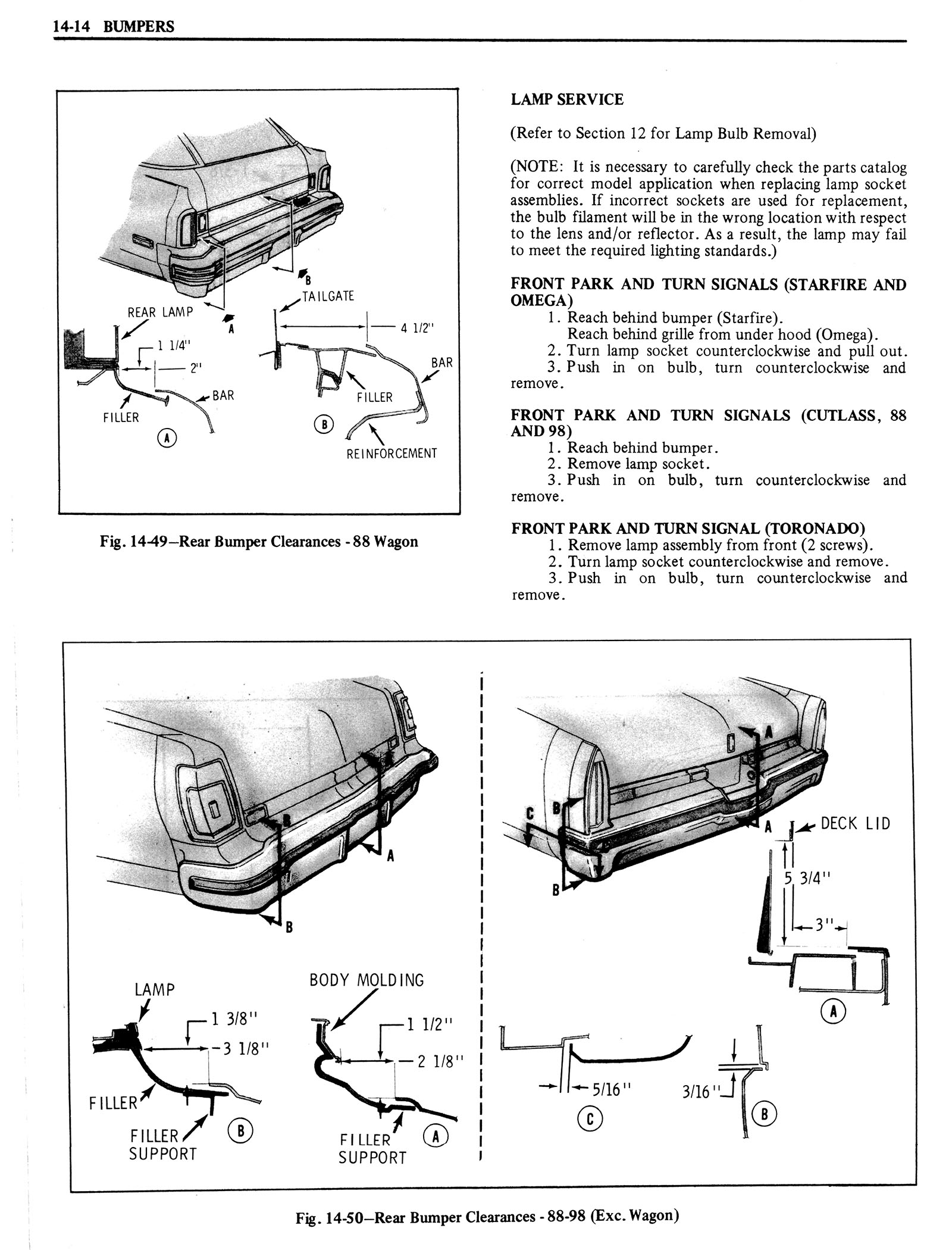 1976 Oldsmobile Service Manual page 1300 of 1390