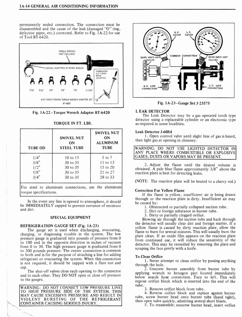 1976 Oldsmobile Service Manual page 56 of 1390