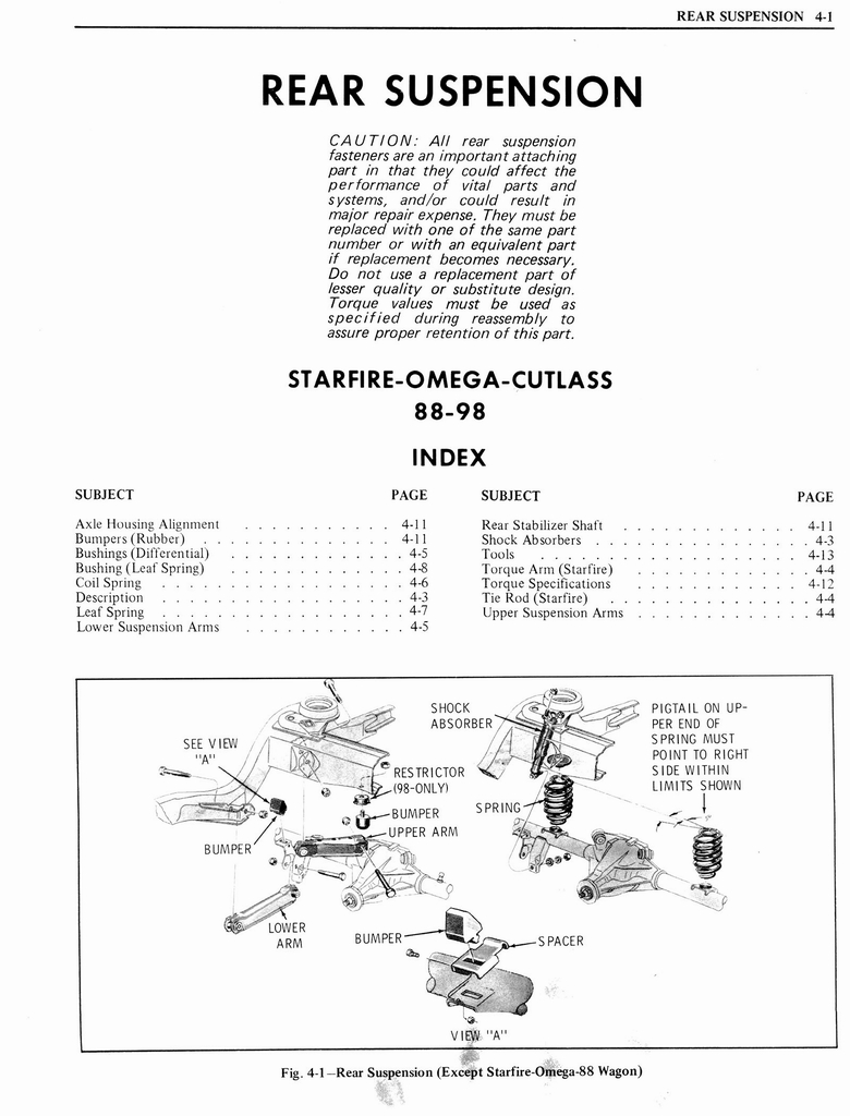 1976 Oldsmobile Service Manual page 257 of 1390