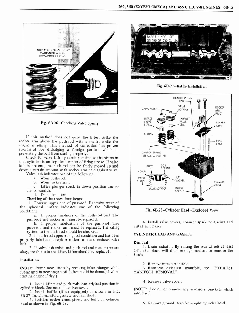 1976 Oldsmobile Service Manual page 434 of 1390
