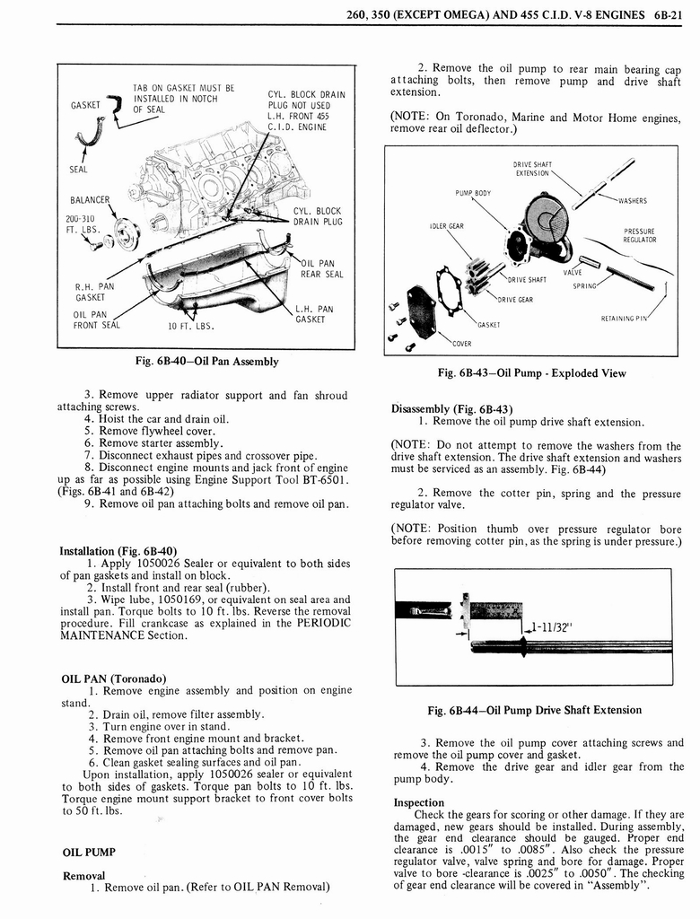 1976 Oldsmobile Service Manual page 440 of 1390