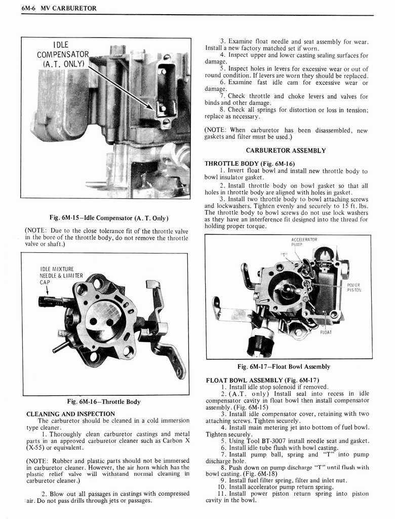 1976 Oldsmobile Service Manual page 560 of 1390