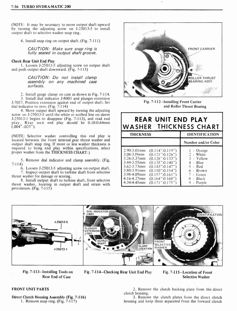 1976 Oldsmobile Service Manual page 648 of 1390