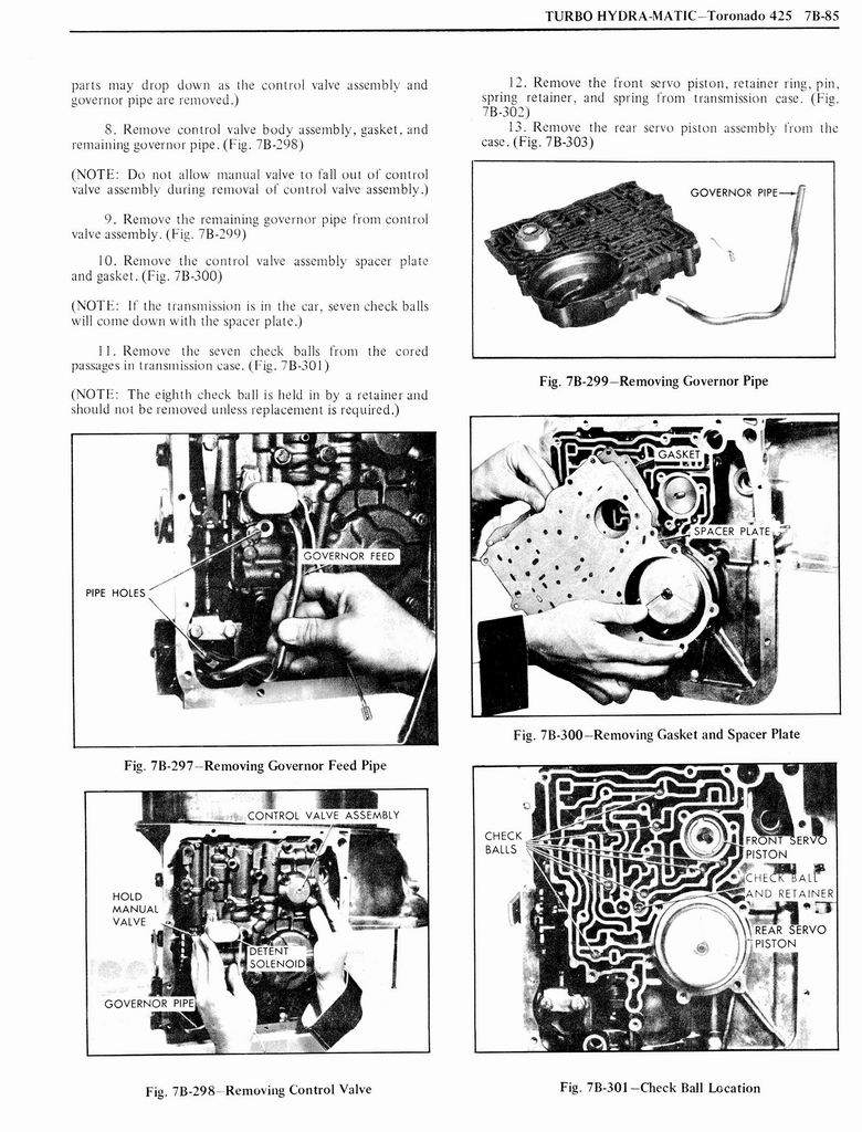 1976 Oldsmobile Service Manual page 817 of 1390
