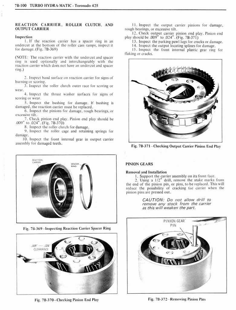 1976 Oldsmobile Service Manual page 832 of 1390