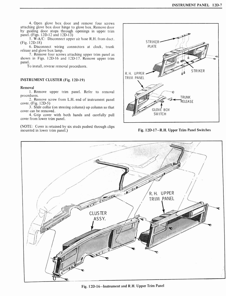 1976 Oldsmobile Service Manual page 1271 of 1390