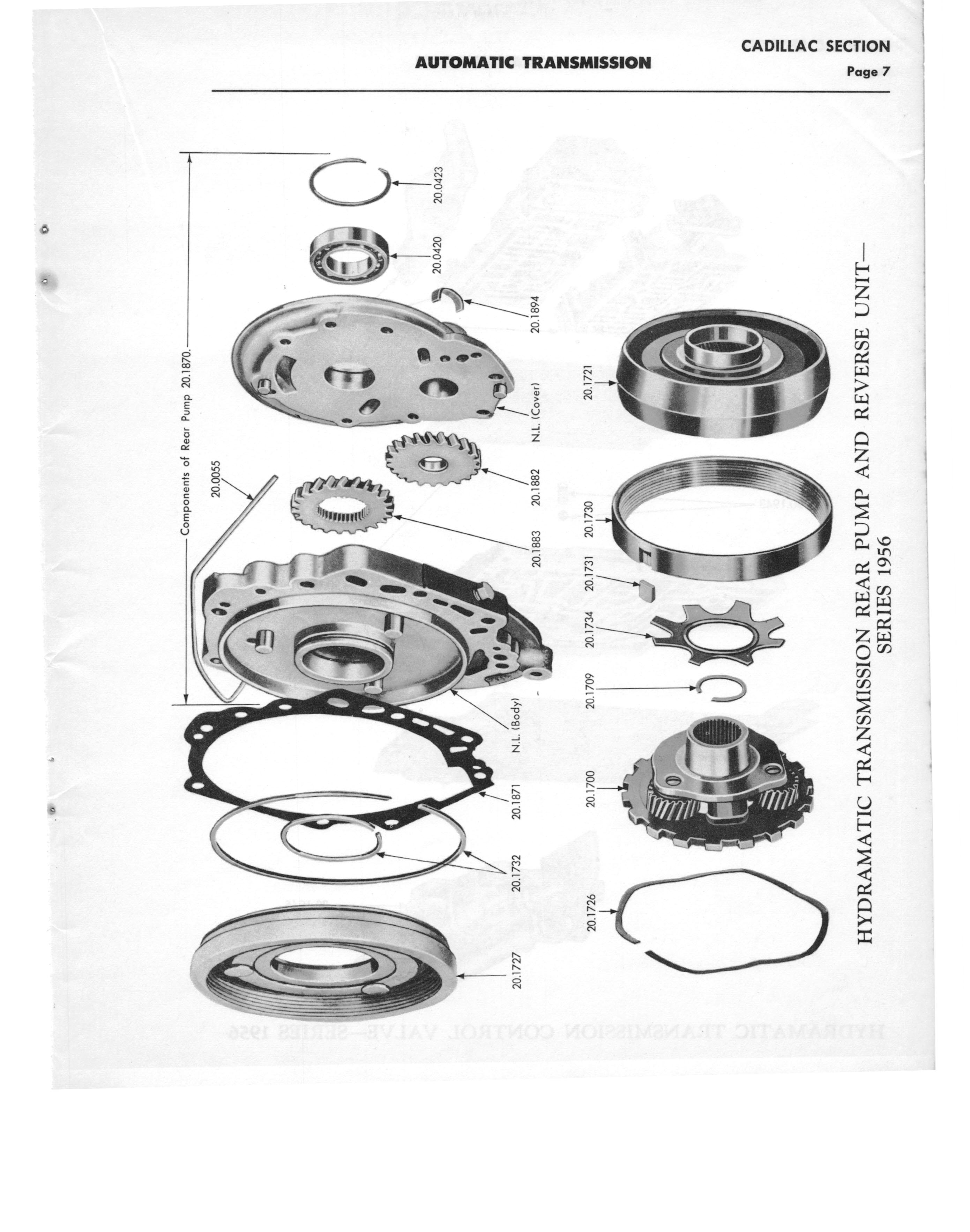 Gm Automatic Transmission Parts Catalog Supplement To A Page 13 Of 97