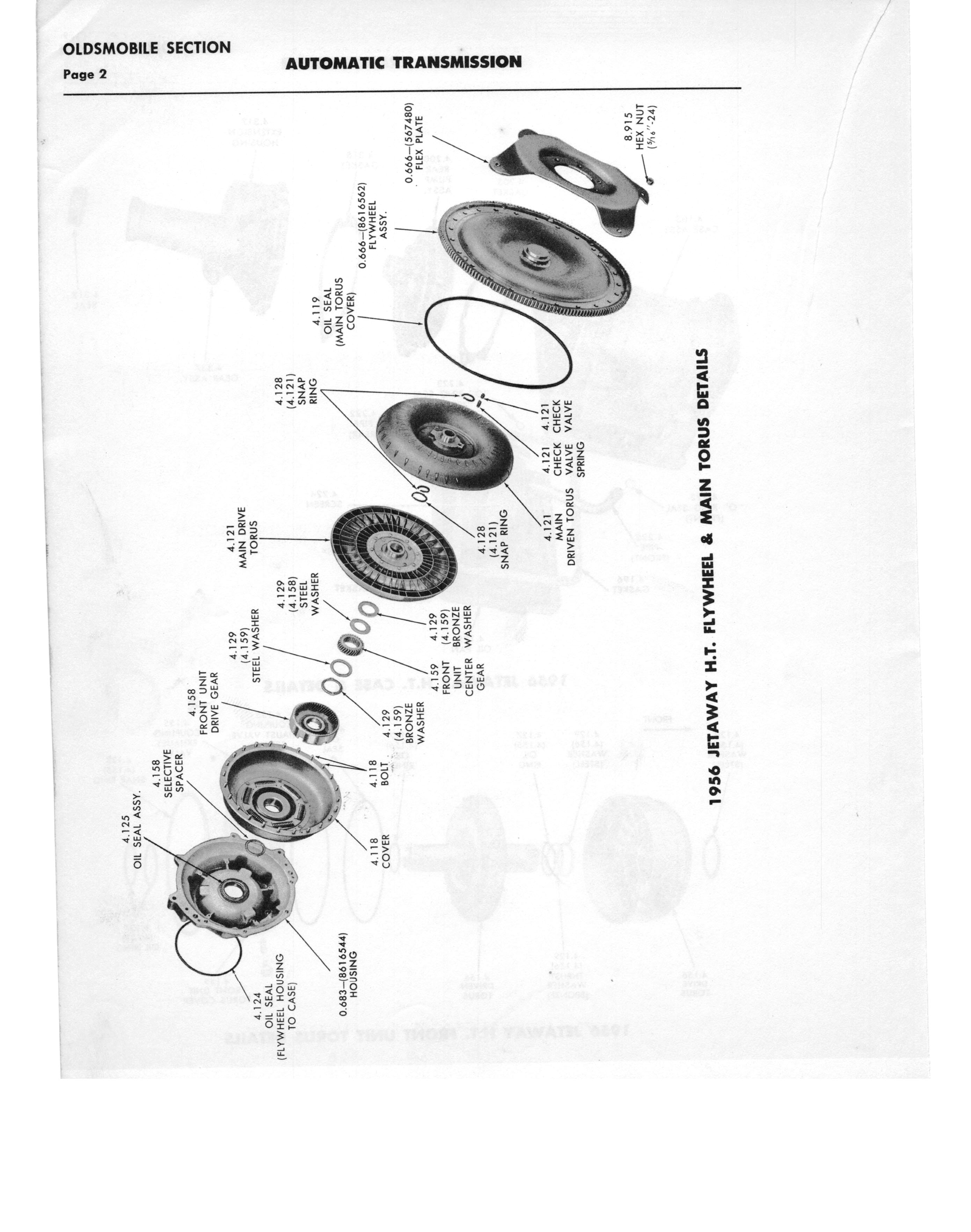 Gm Automatic Transmission Parts Catalog Supplement To A Page 32 Of 97