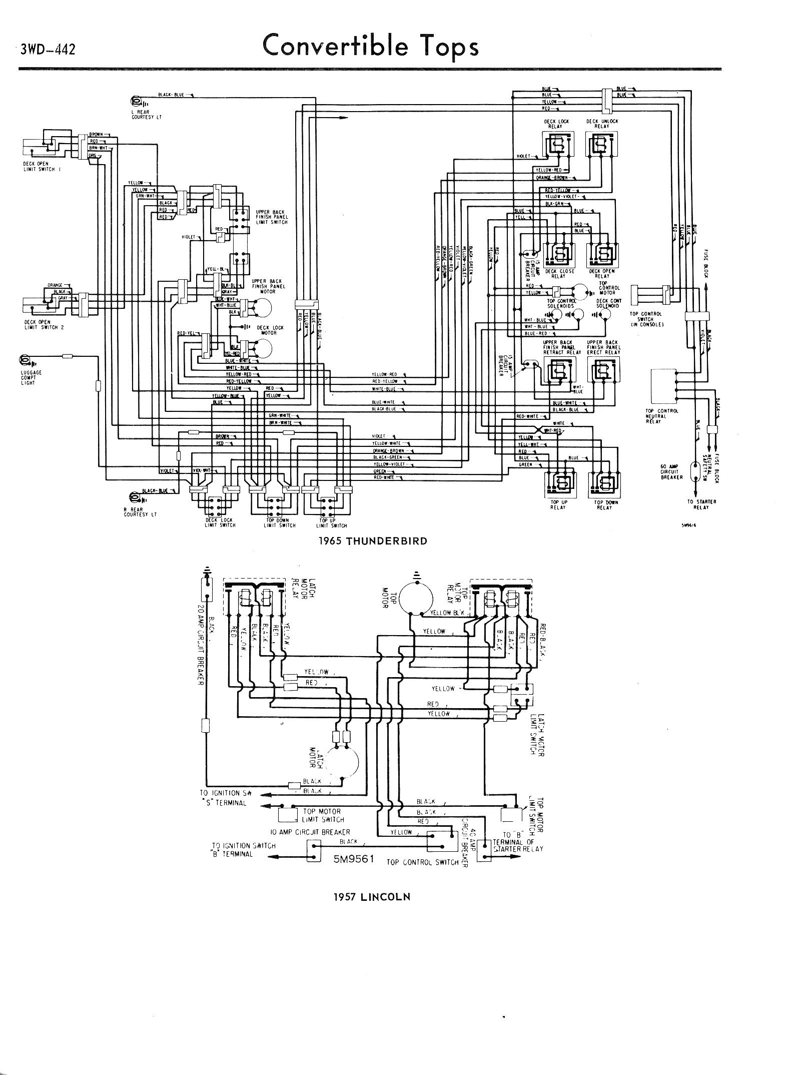 1957-1965 Accessory Wiring Diagrams / 3WD-442.jpg