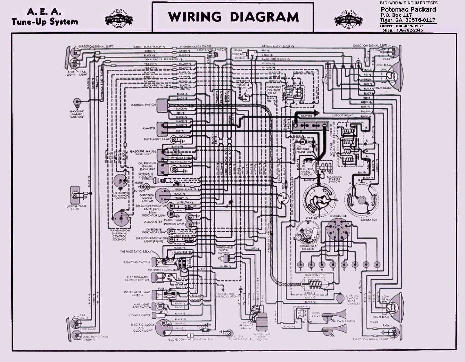 1947 Packard Wiring Diagram Enthusiast Diagrams 1956 Dodge Truck 2012 Chrysler 200 33 1986 Engine